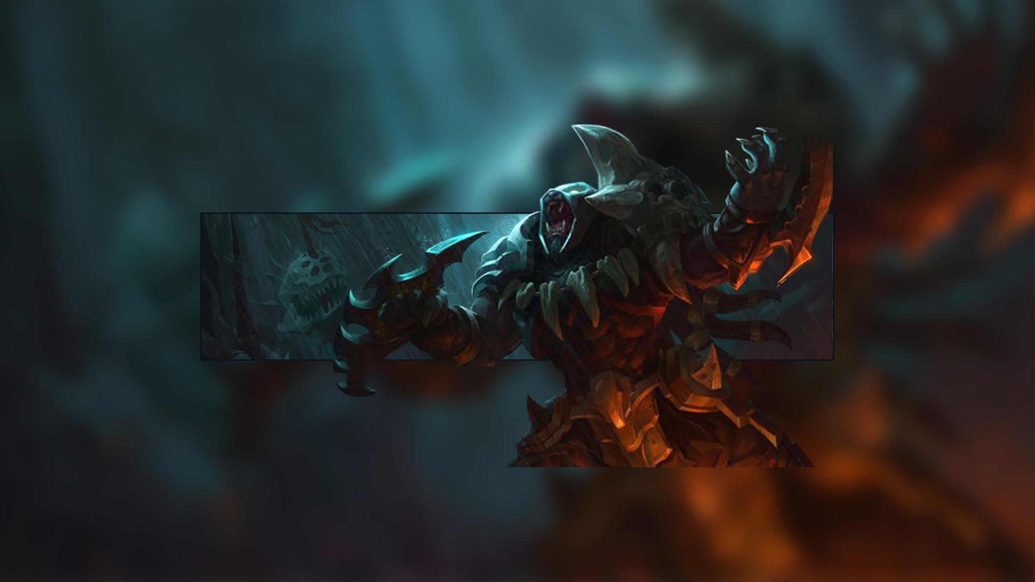 Headhunter Rengar by Insane HD Wallpaper Fan Artwork League of Legends lol