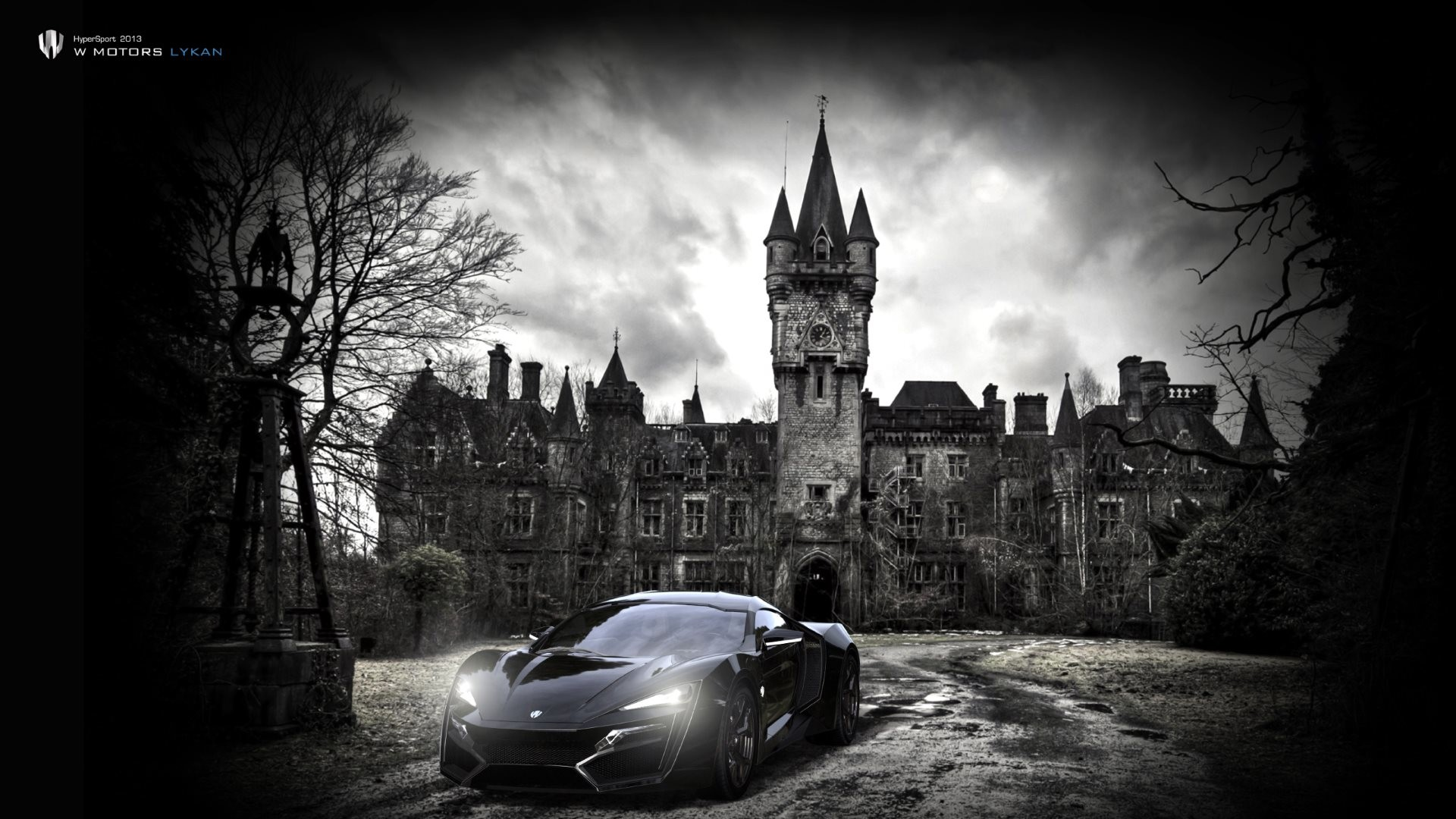 Lykan Hypersport Car looks insane as wallpaper on any HD and Wide screen