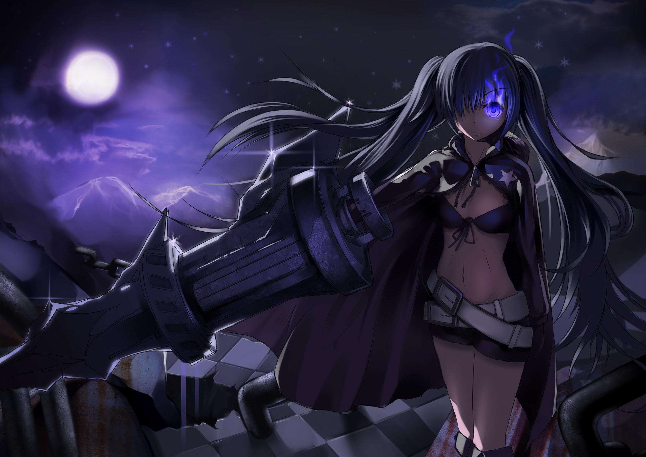 Anime – Black Rock Shooter Wallpaper