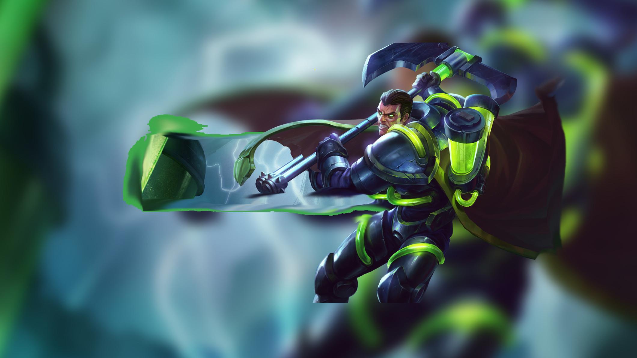 Bioforge Darius by Insane HD Wallpaper Fan Art Artwork League of Legends lol