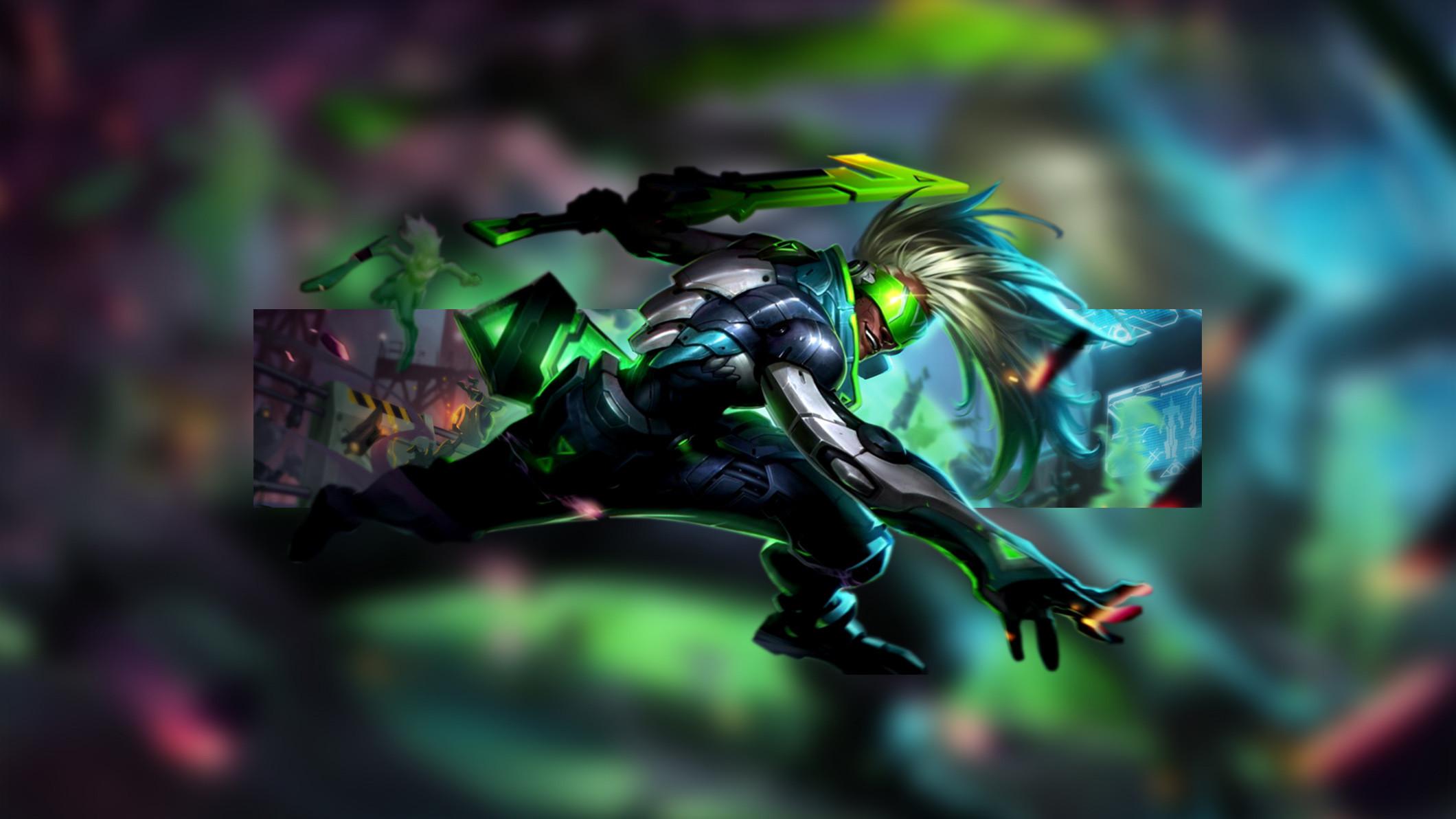 PROJECT Ekko by Insane HD Wallpaper Fan Art Artwork League of Legends lol