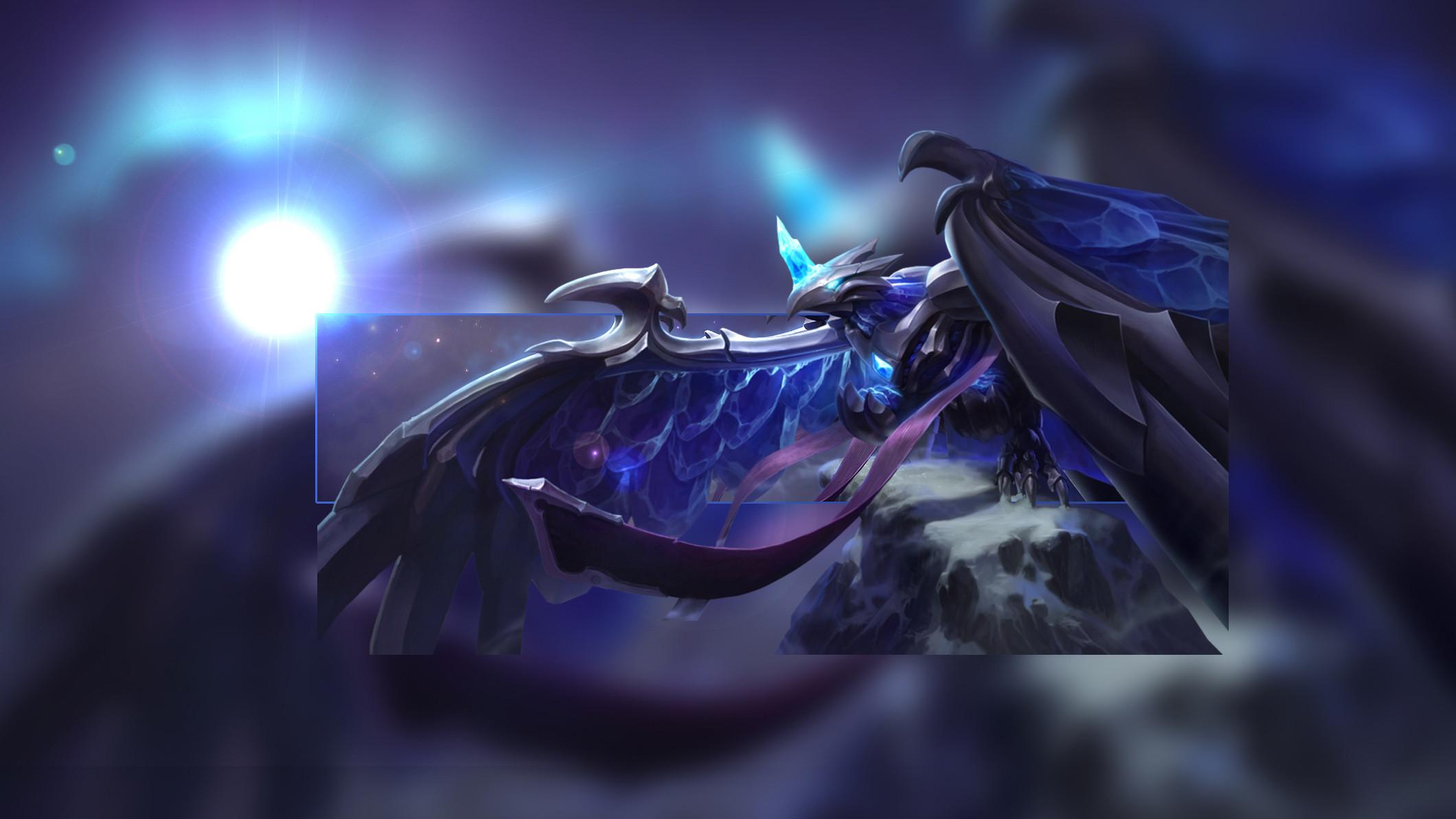 Blackfrost Anivia by Insane HD Wallpaper Artwork Fan Art League of Legends  lol