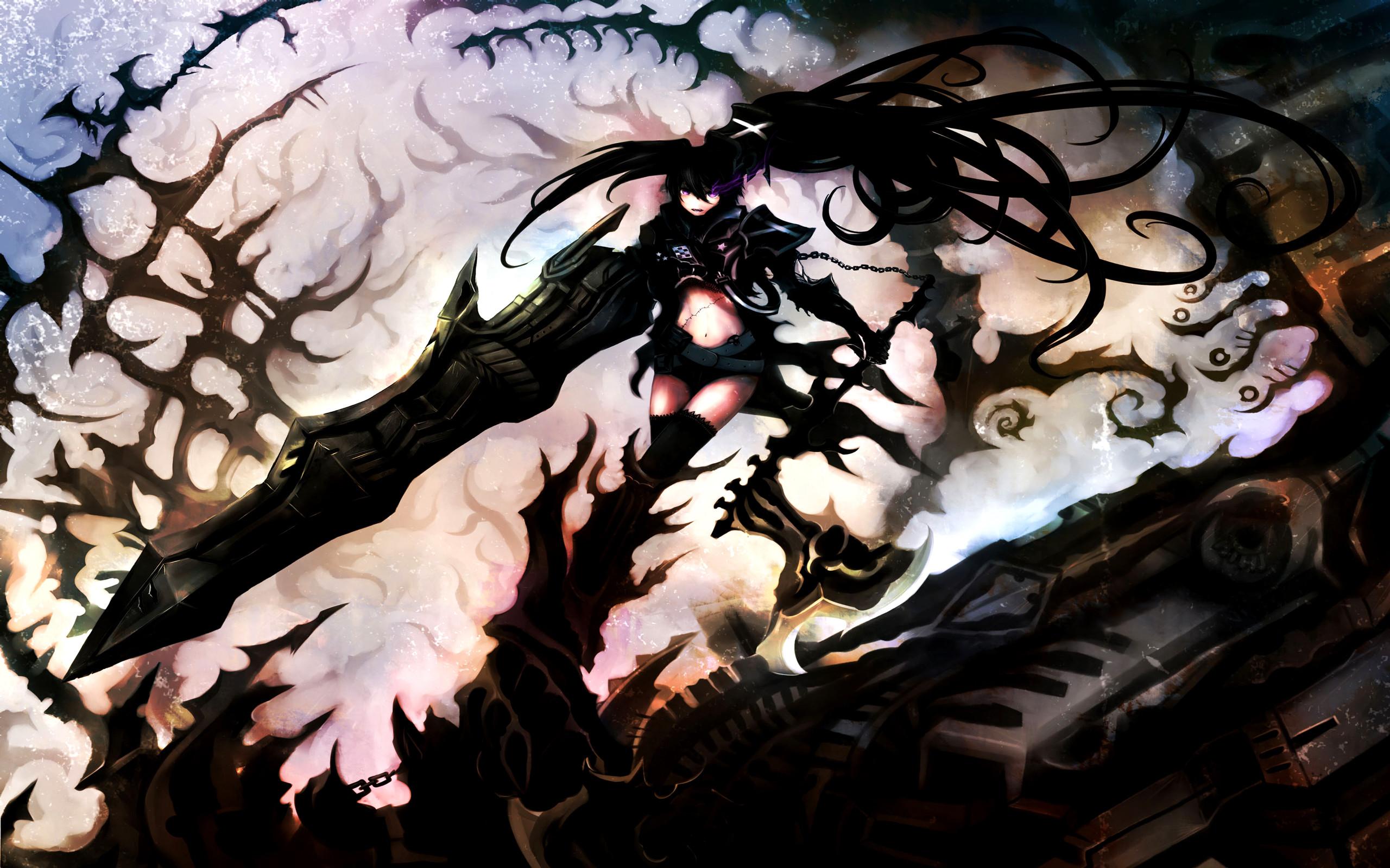 Anime Black Rock Shooter Insane Black Rock Shooter Wallpaper