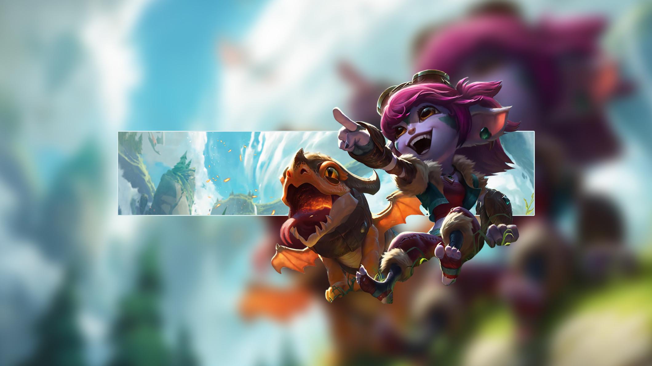 Dragon Trainer Tristana by Insane HD Wallpaper Fan Art Artwork League of  Legends lol
