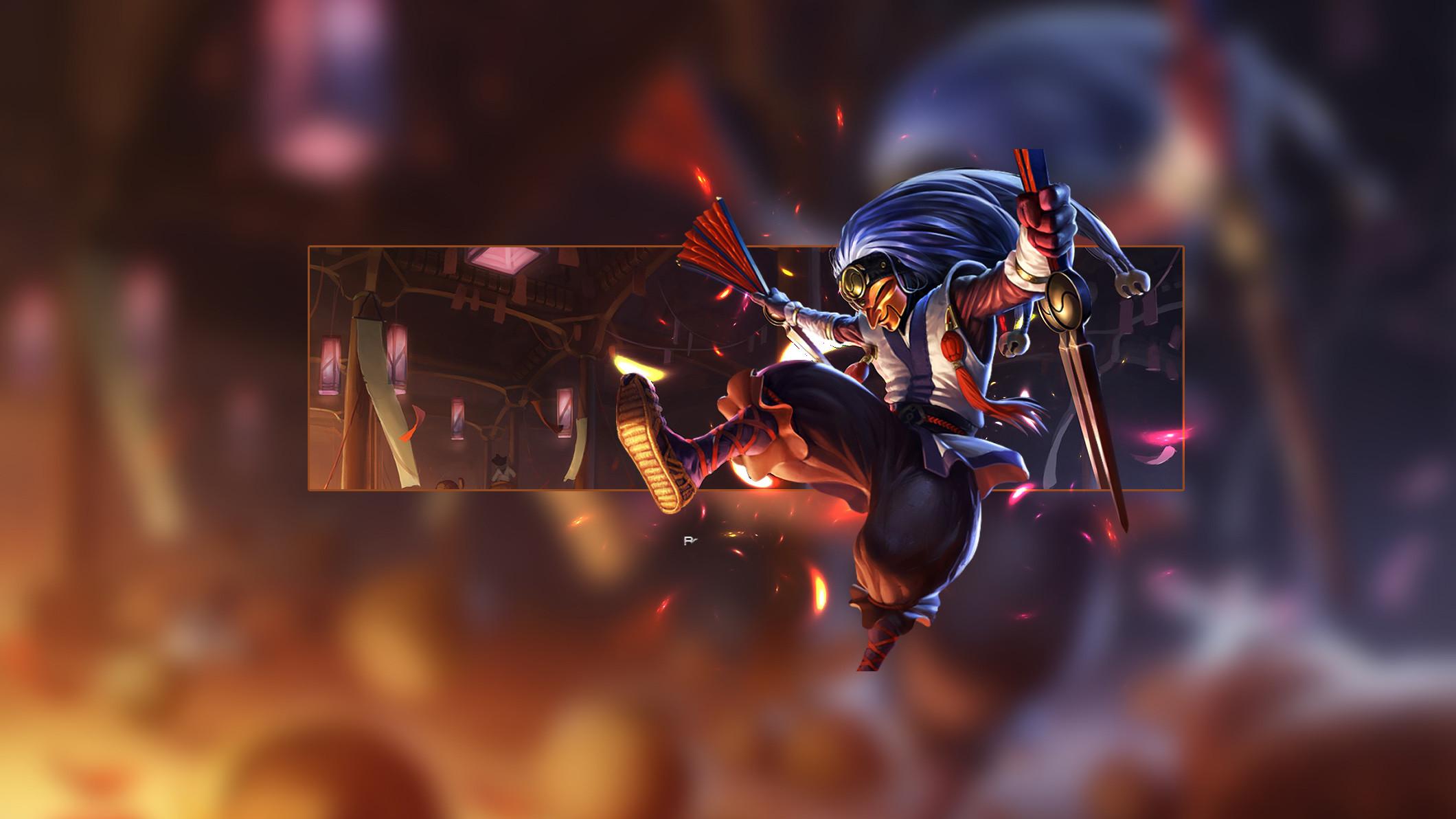 Masked Shaco by Insane HD Wallpaper Fan Art Artwork League of Legends lol