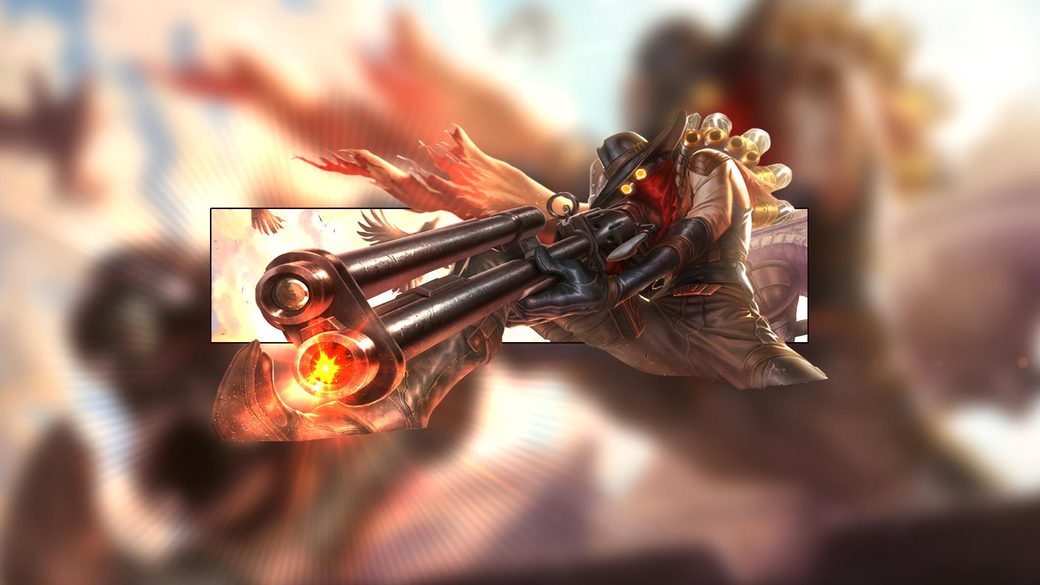 High Noon Jhin by Insane HD Wallpaper Fan Art Artwork League of Legends lol