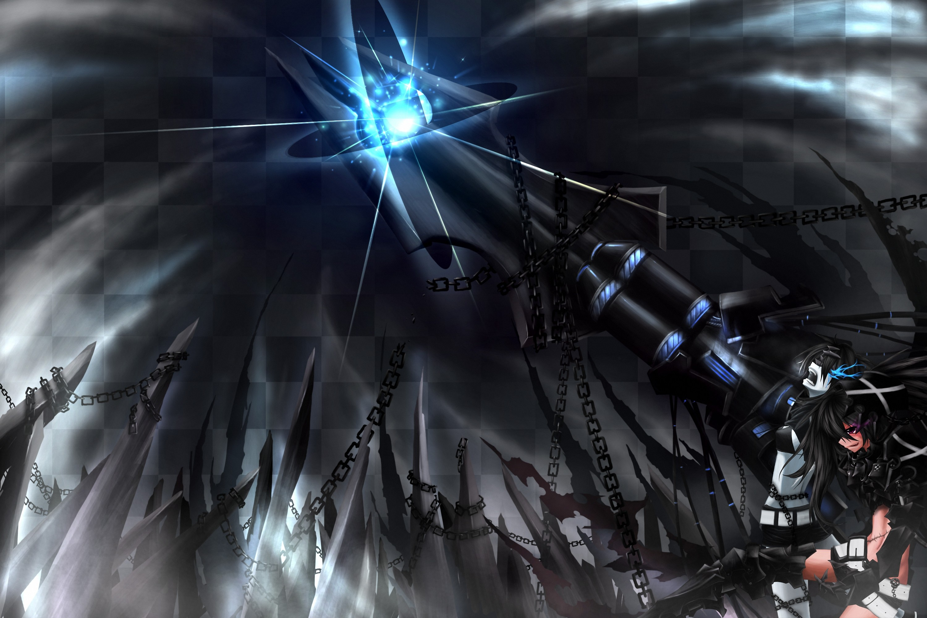 1582 Black Rock Shooter HD Wallpapers | Backgrounds – Wallpaper Abyss