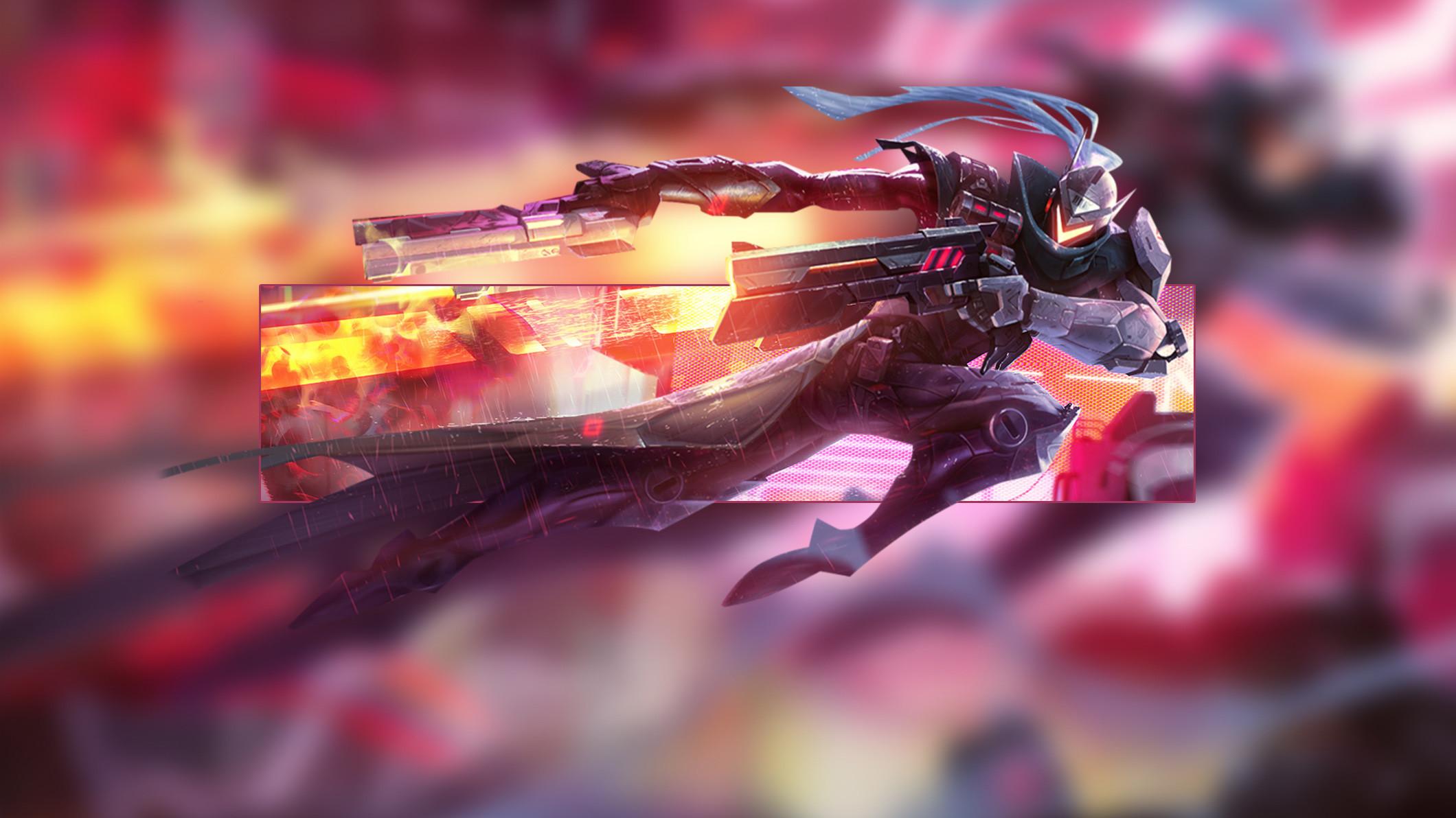 Project Lucian by Insane HD Wallpaper Fan Art Artwork League of Legends lol