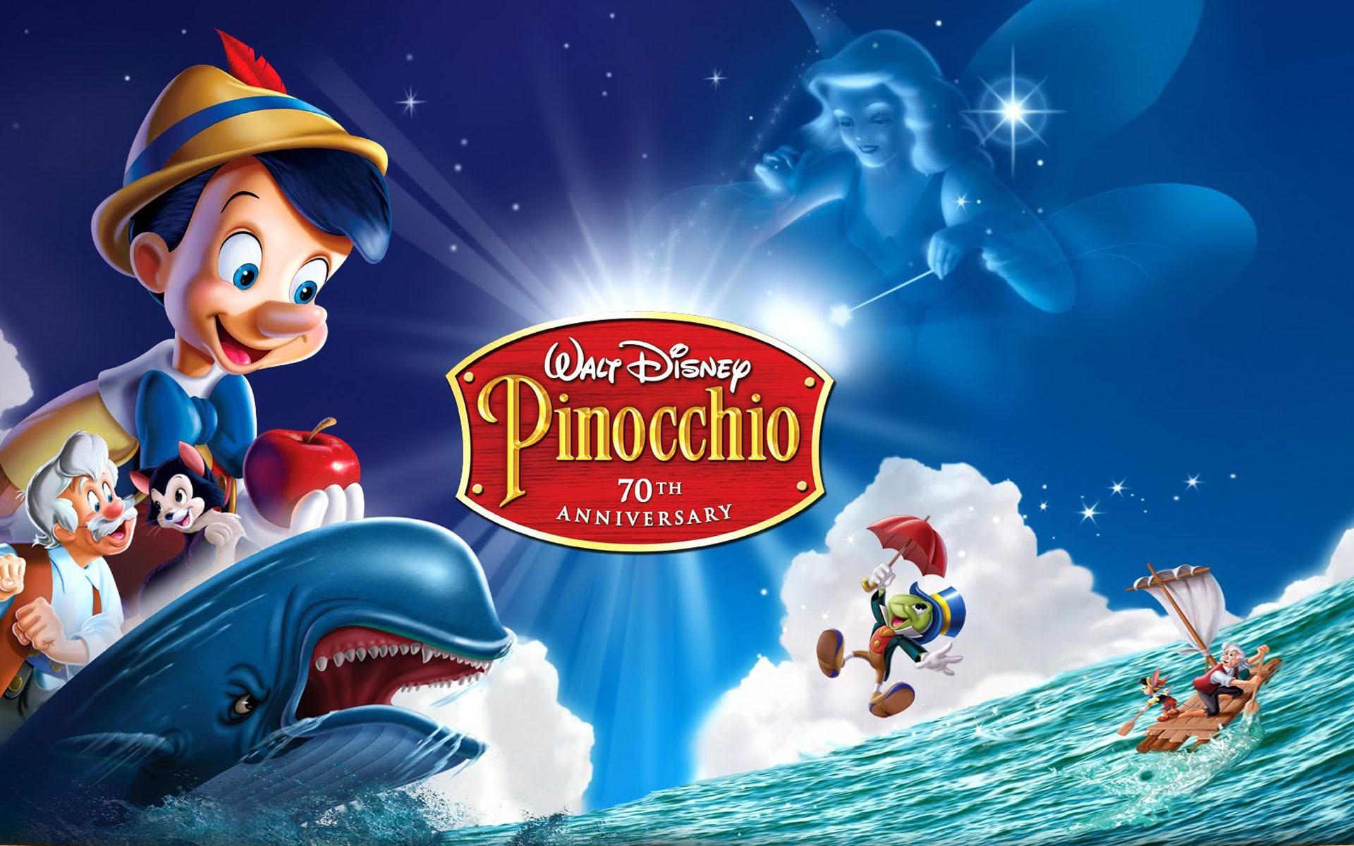 Walt Disney Pinocchio Fir.