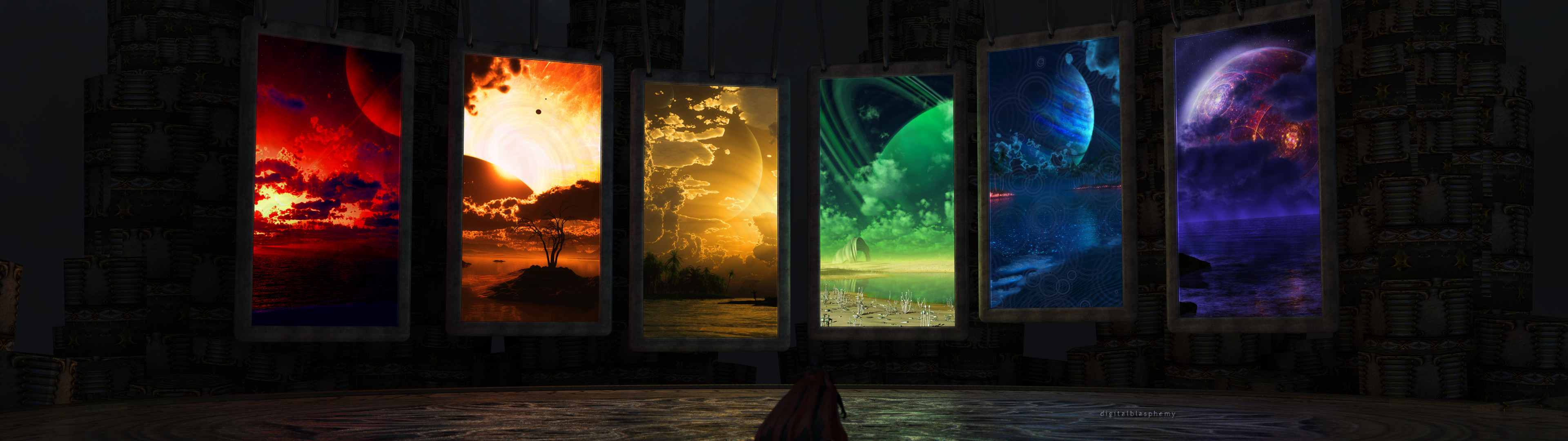 … multi monitor wallpapers hd pic; dual monitor clipart  collection …