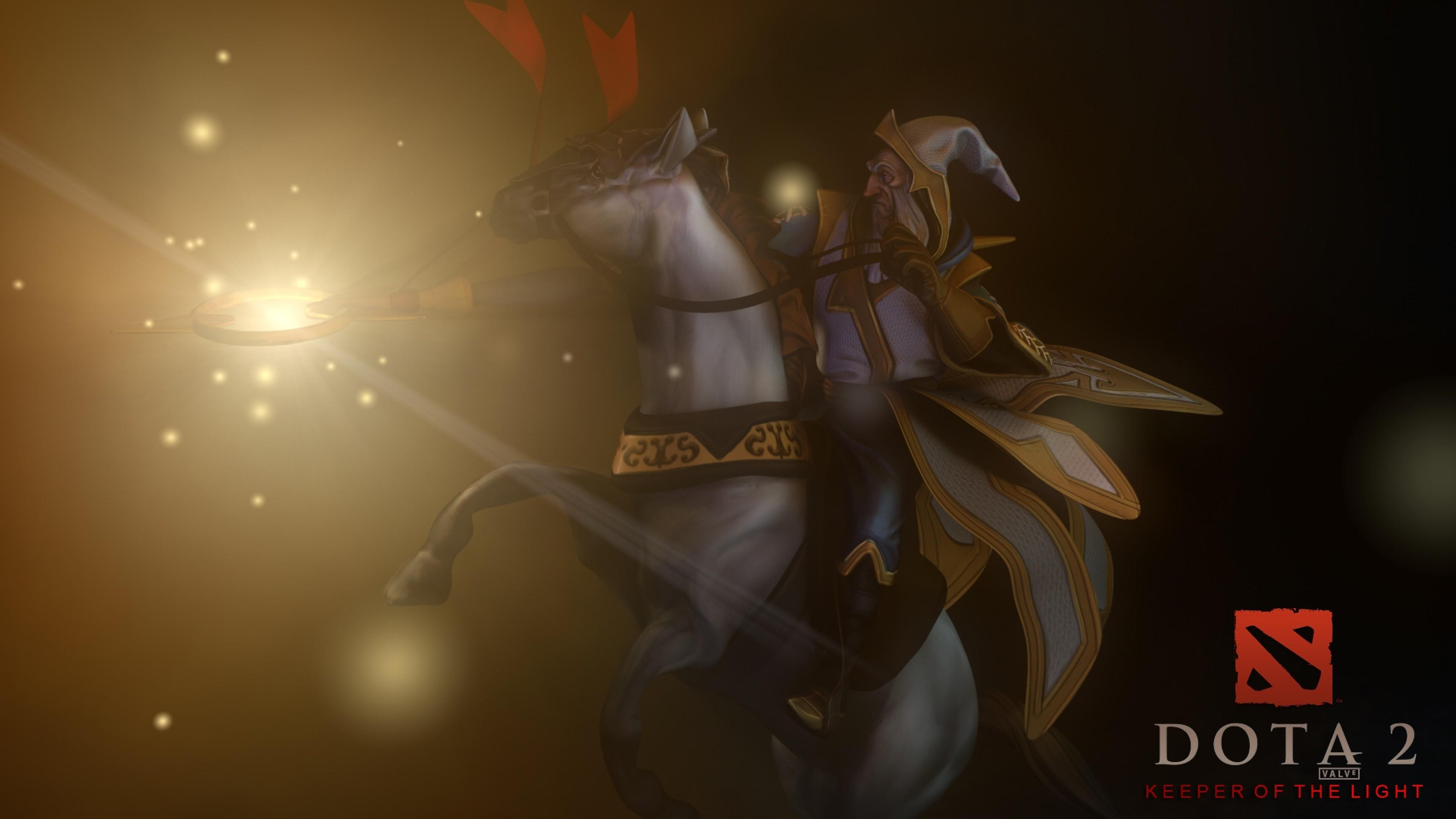 Beautiful Dota2 Keeper Of the Light Hd Desktop Wallpapers