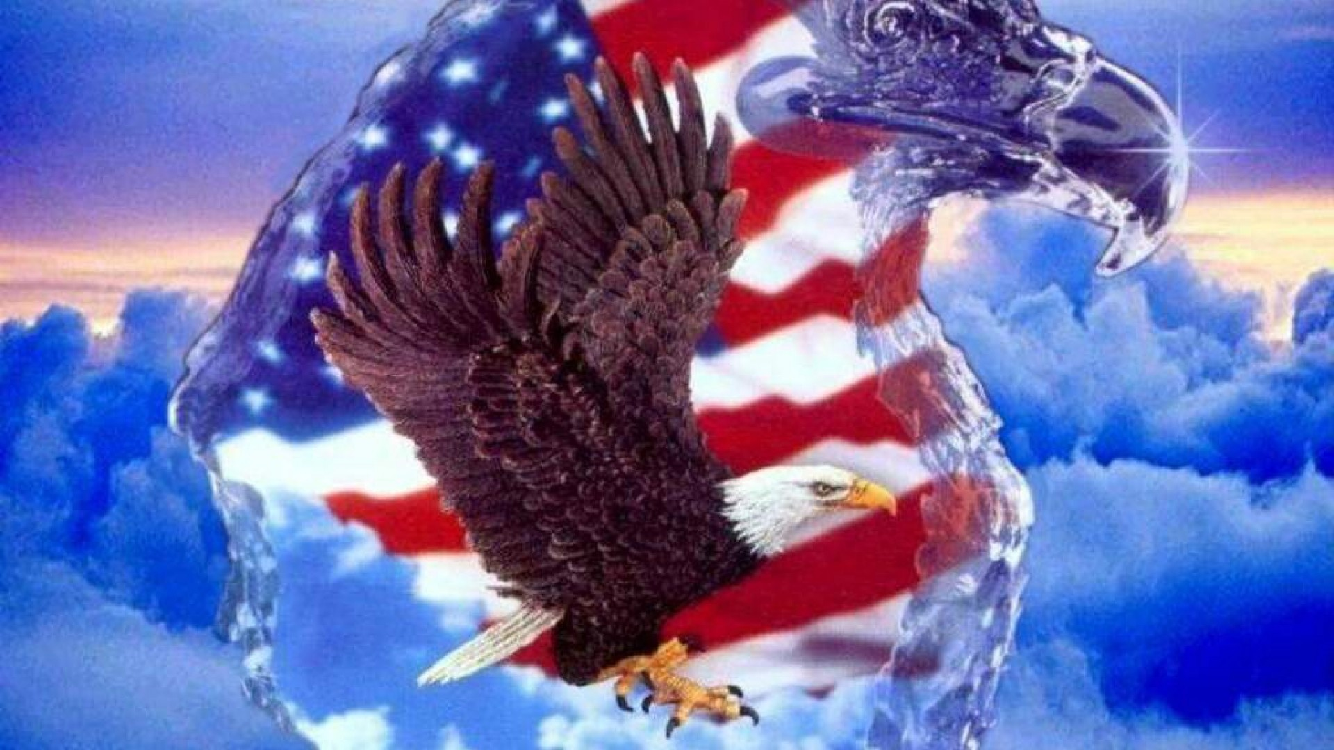 Bald Eagle For Independence Day Wallpaper Free Iphone Wallpapers