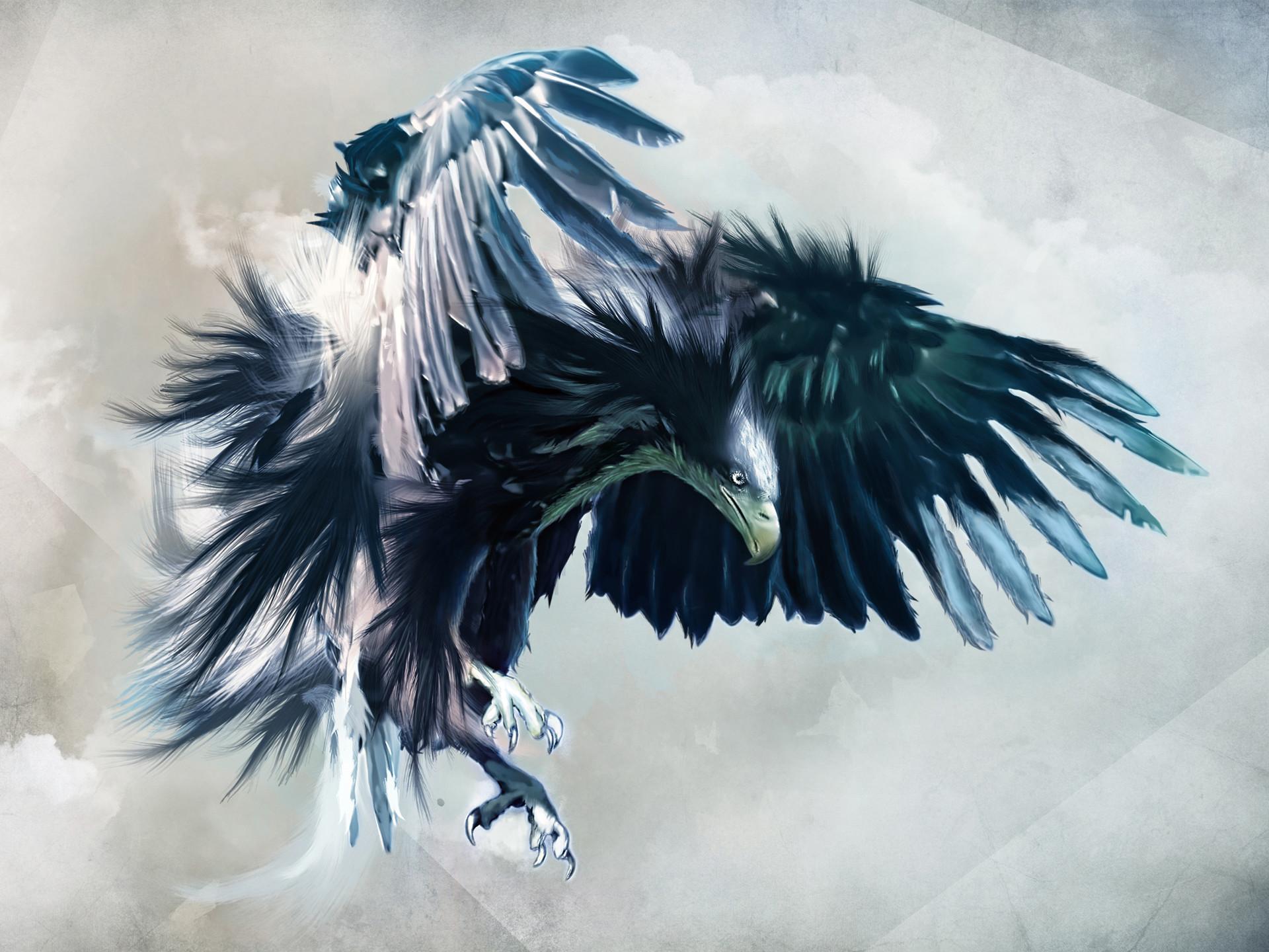 Fierce Eagle HD Wallpaper on MobDecor