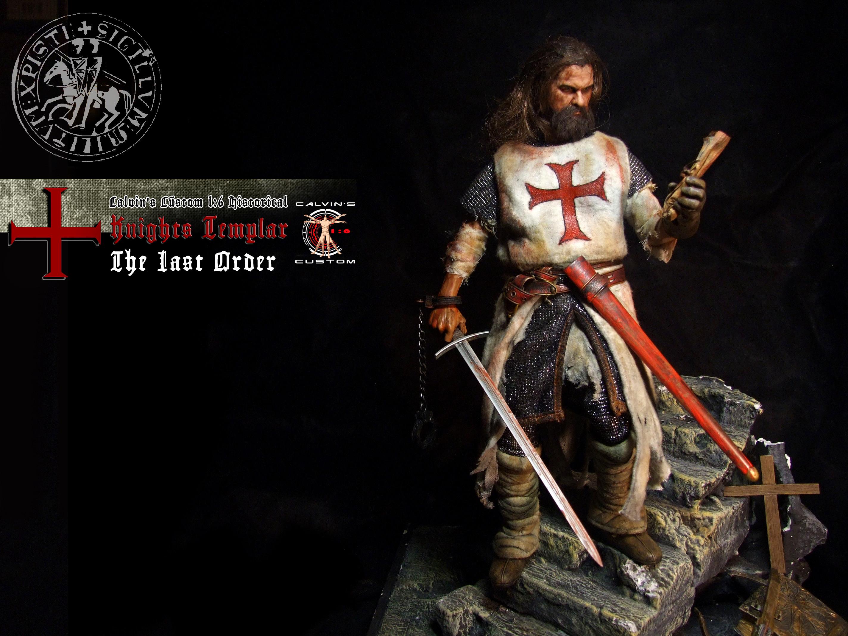 "Assassin's creed: Assassin au Templar images Calvin's Custom 1:6 one sixth  scale Historical Figure: ""Knights Templar The Last Order"" custom figur HD  …"