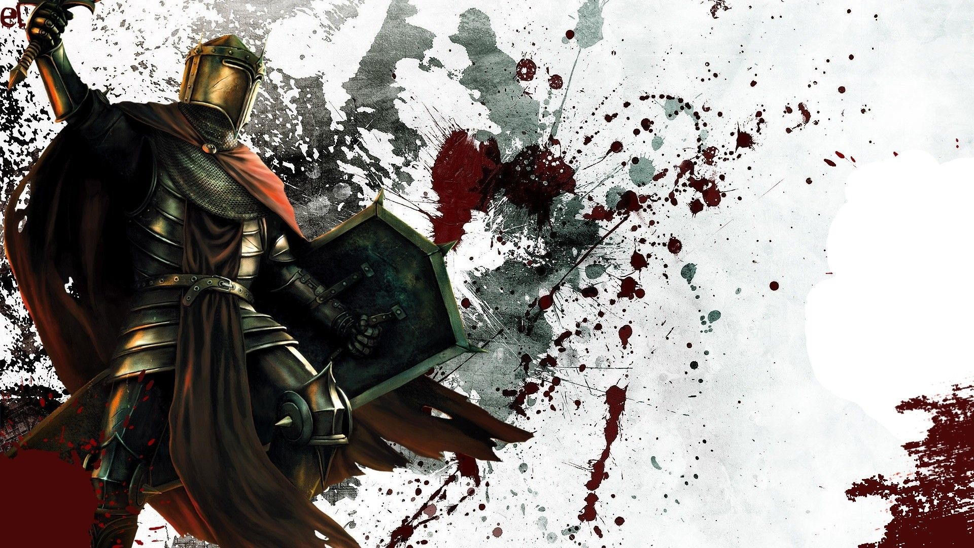 Gallery for – medieval knights fighting wallpaper