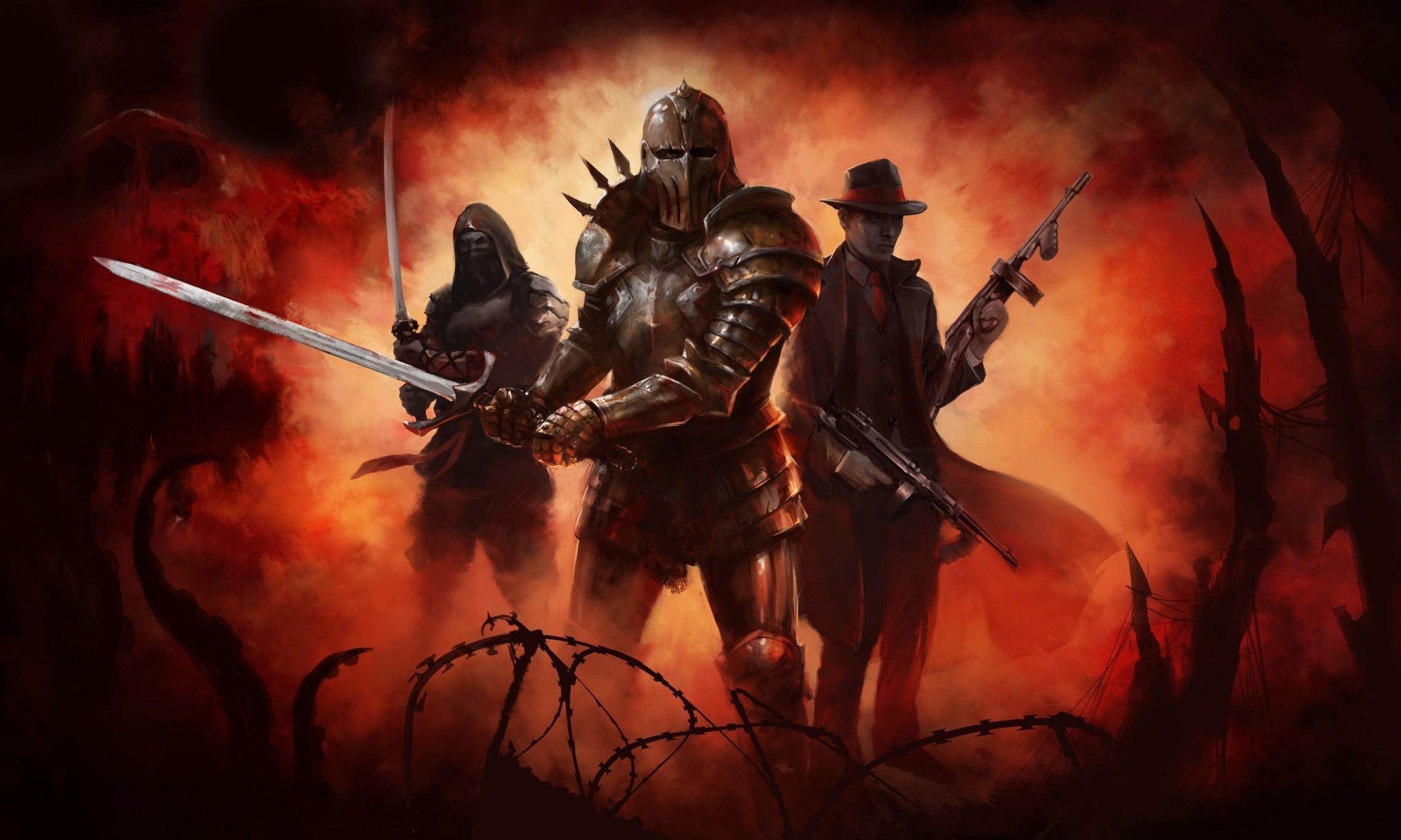 Knight Warrior Wallpaper. All …