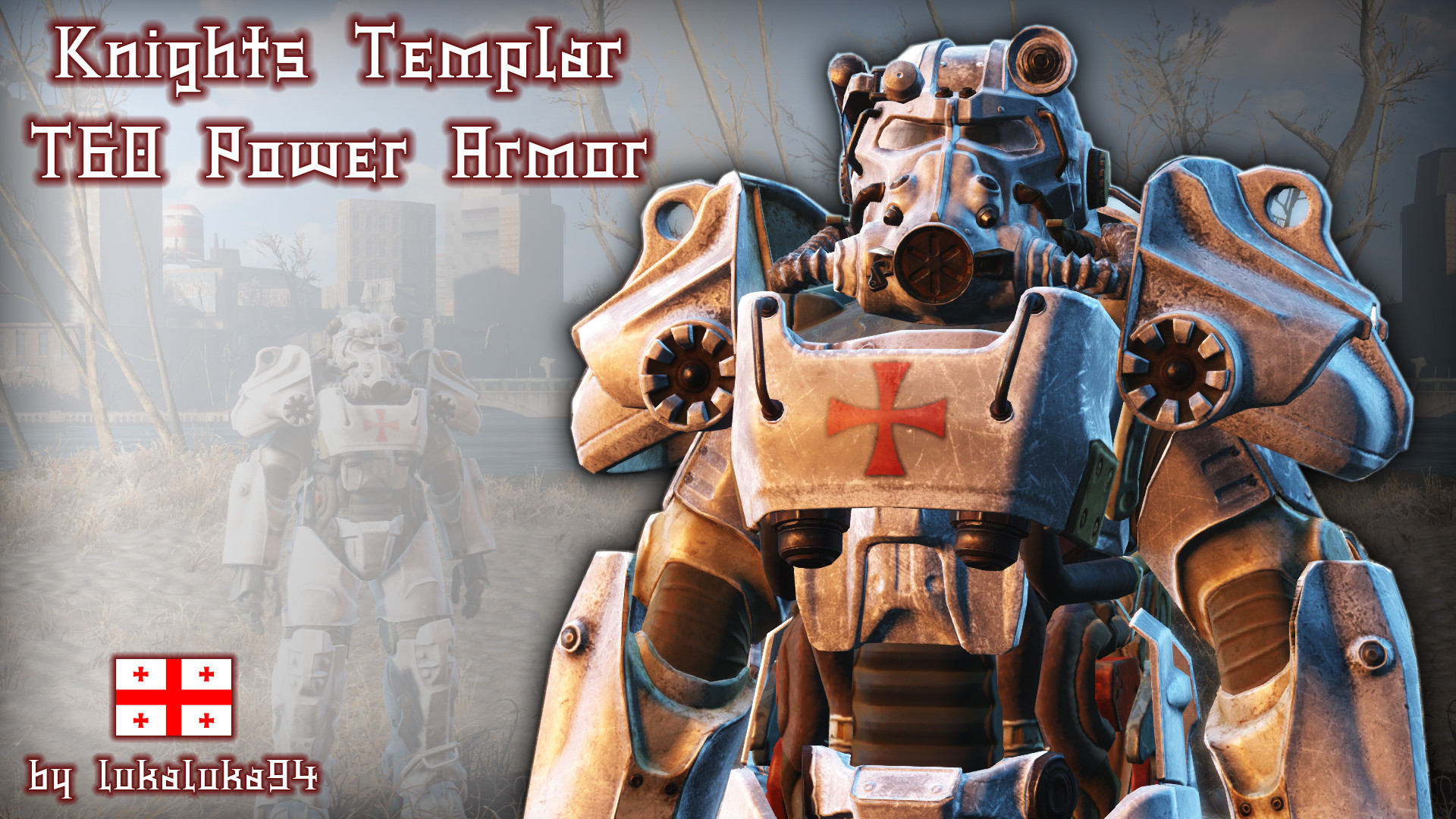 Knights Templar – T60 Power Armor at Fallout 4 Nexus – Mods and community