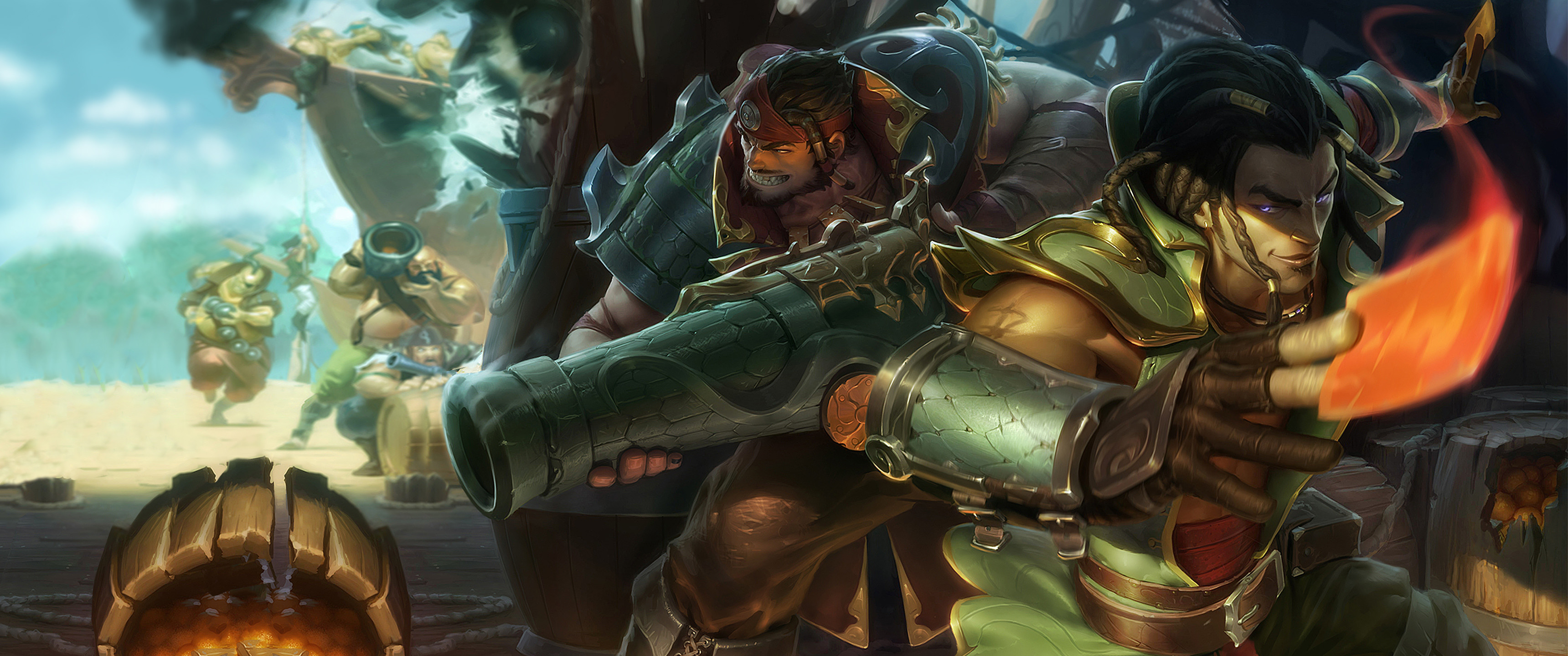 Video Game – League Of Legends Graves (League Of Legends) Pirate Twisted  Fate (