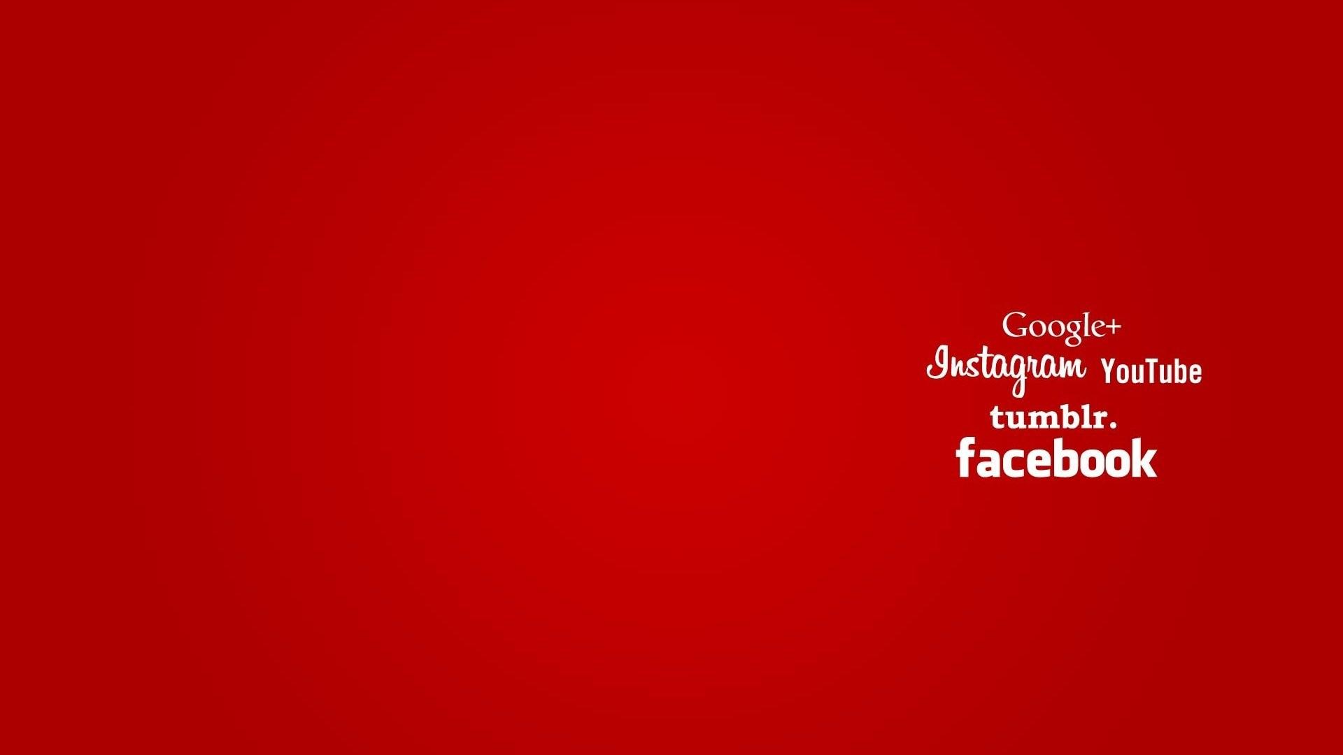 wallpaper: Google+, instagram, YouTube, tumblr, facebook, …