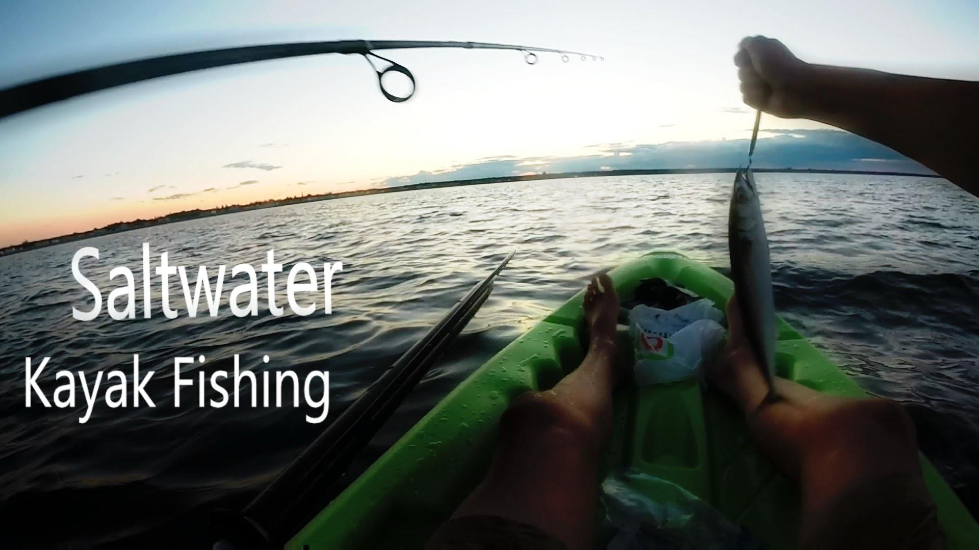 Saltwater kayak fishing!!!