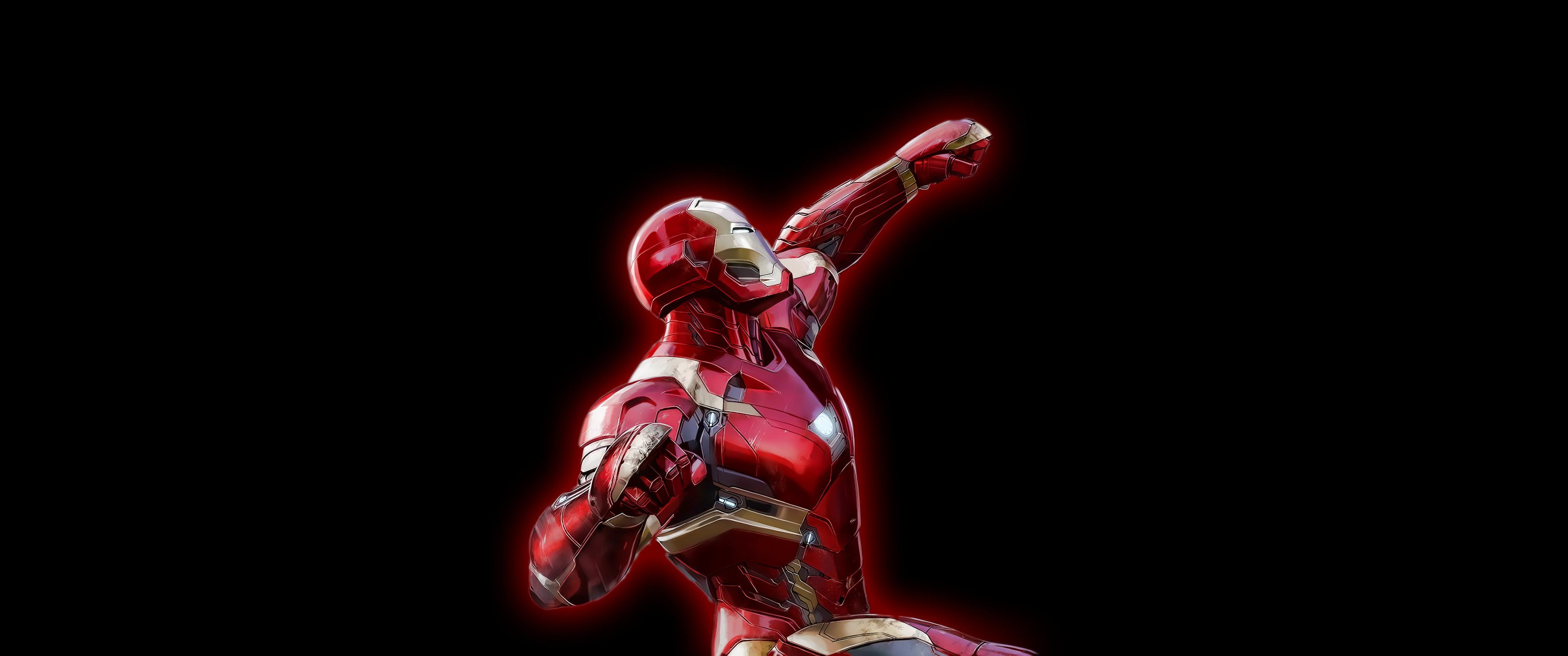 Iron Man wallpaper I made …