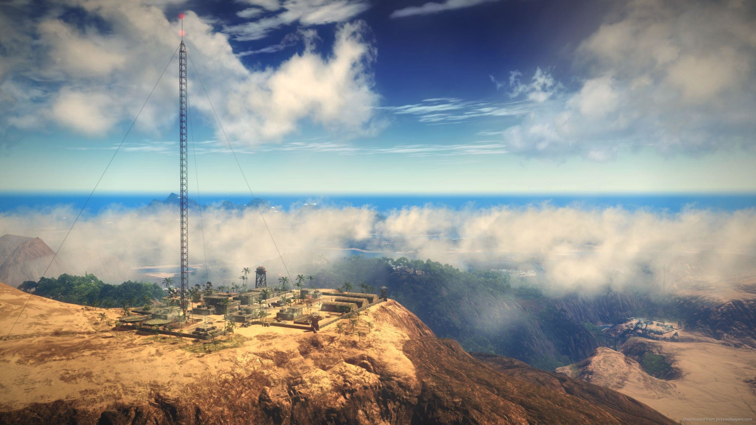Download Just Cause 2 Thin Blue Line Wallpaper