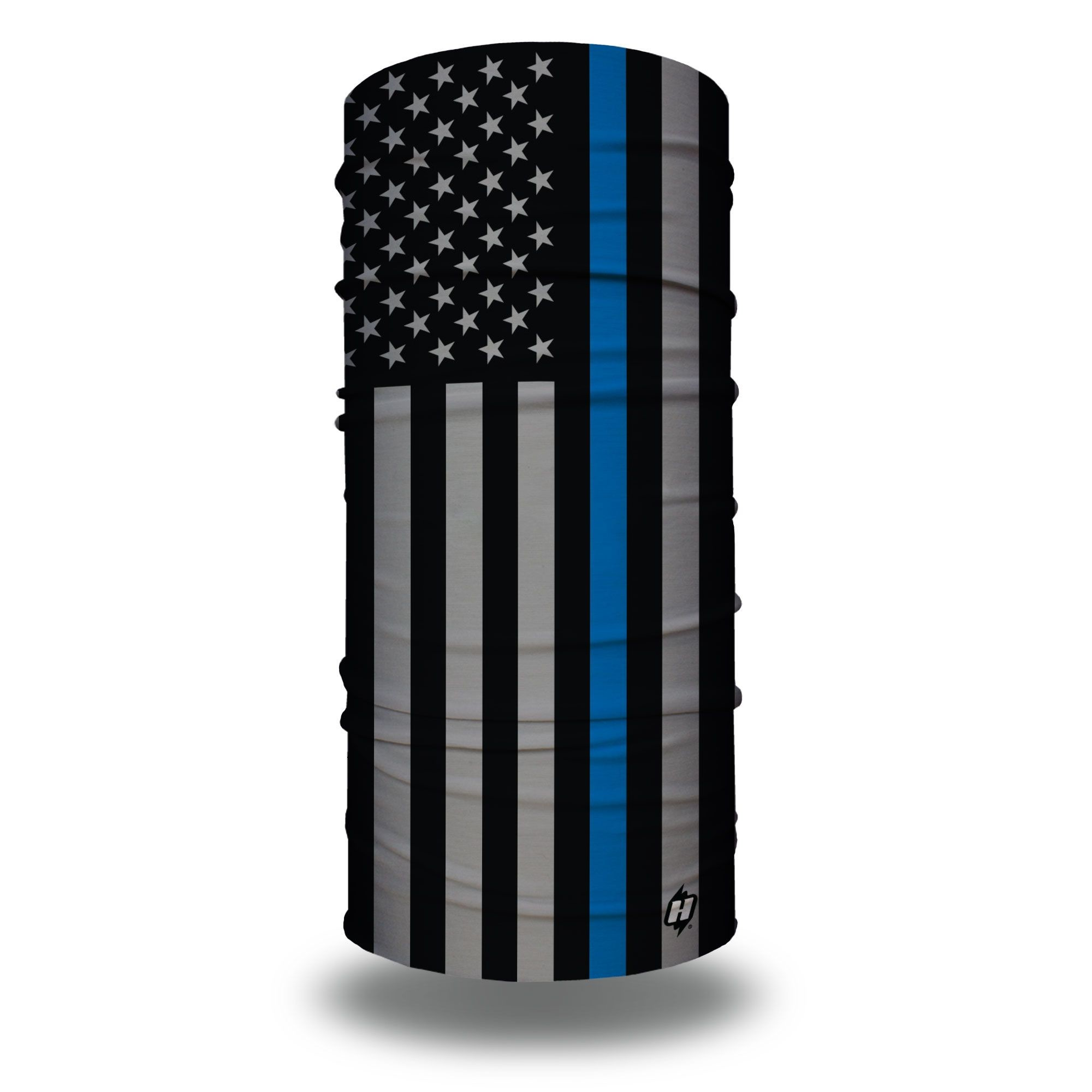 Blue Line Reflective Hold The Line Shield Decal