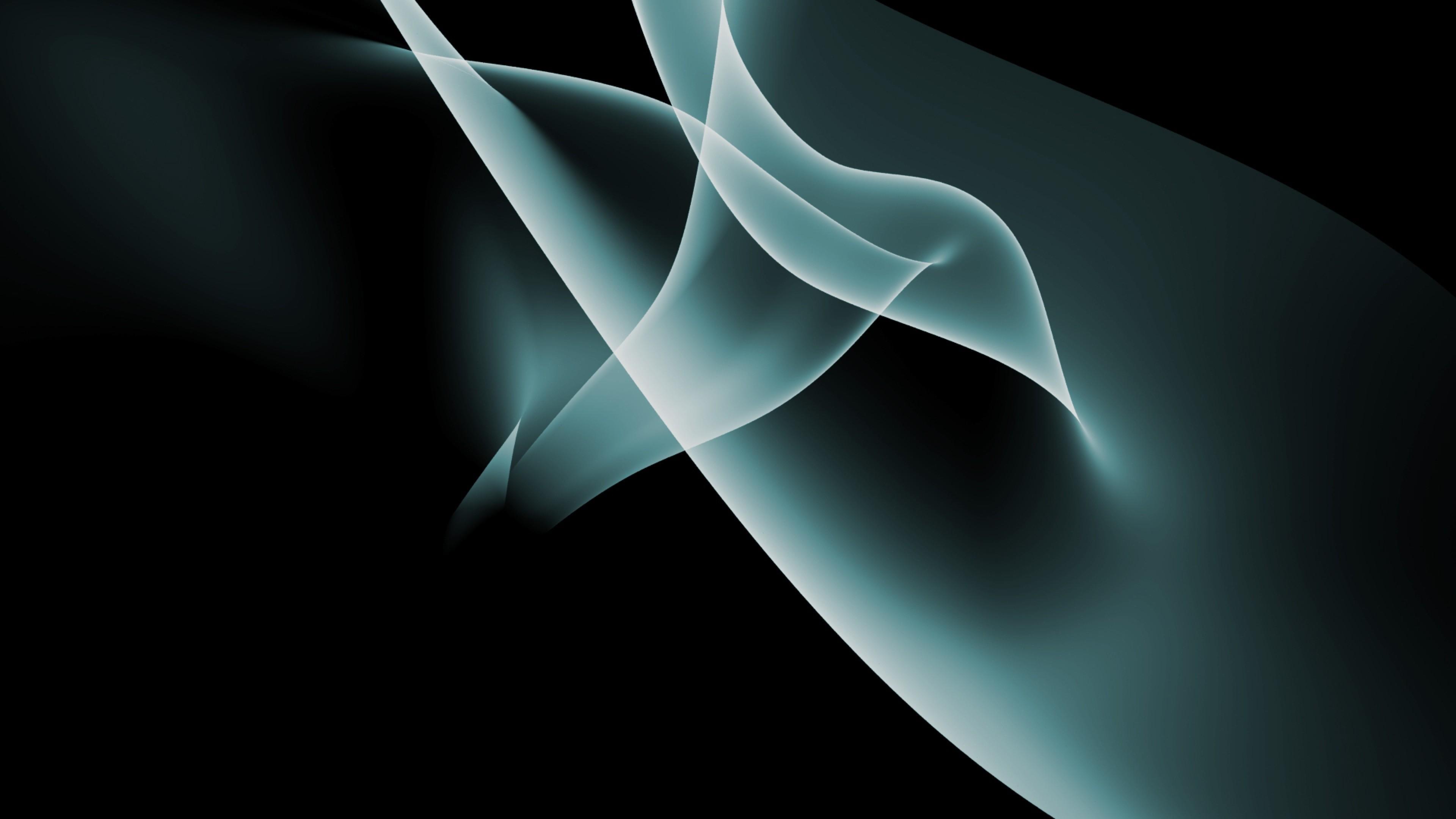 Wallpaper line, smoke, veil, shadows, light