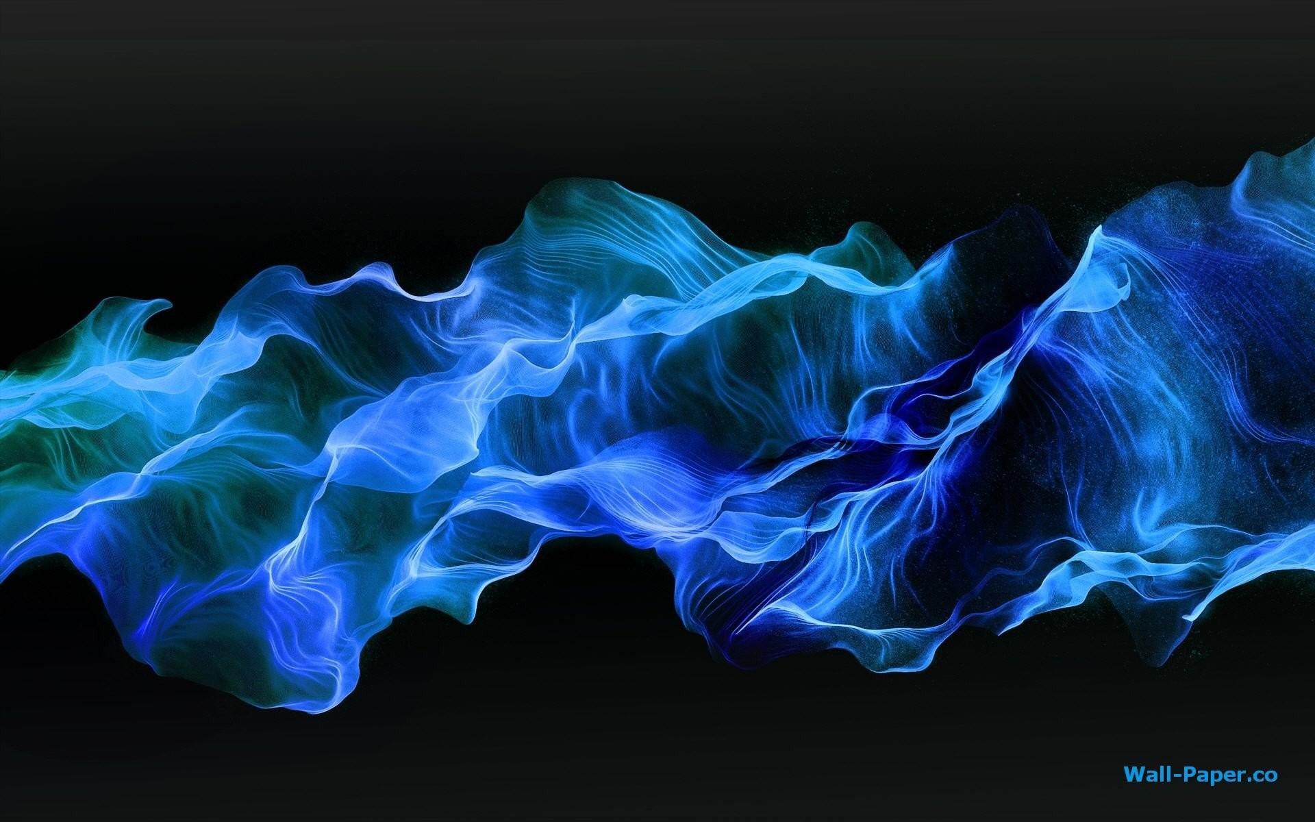 Blue Smoke Wallpaper » WallDevil – Best desktop and mobile wallpapers