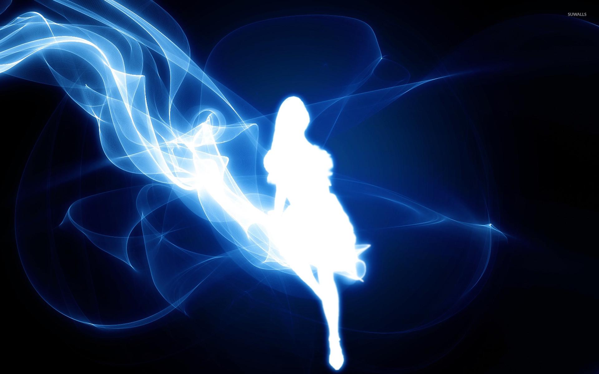 Smoke Fairy wallpaper