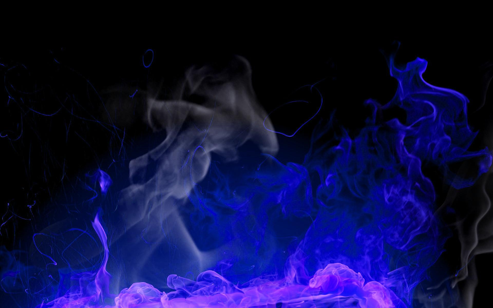 blue smoke wallpaper posted – photo #11