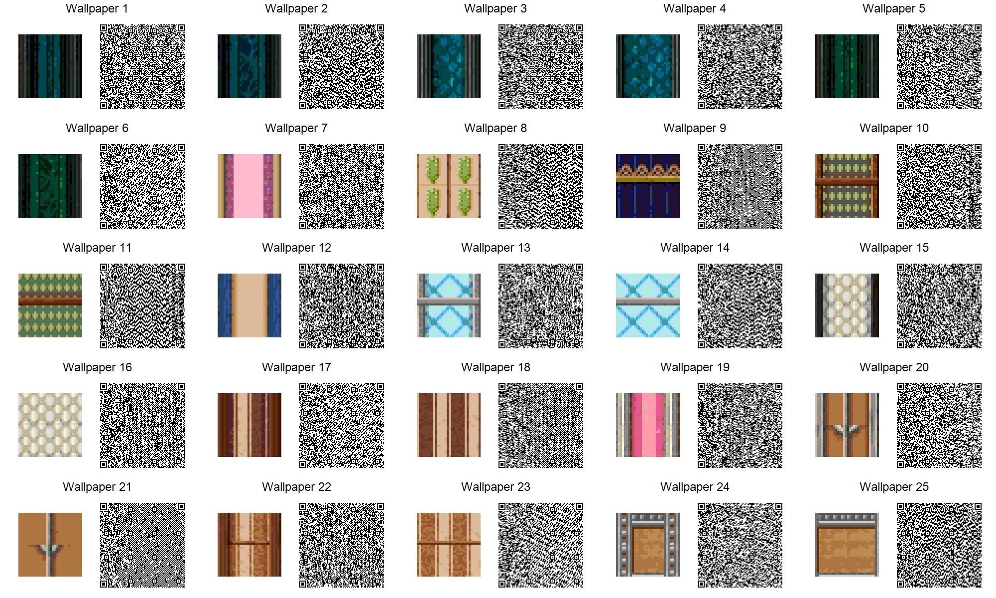 qr codes wallpaper …