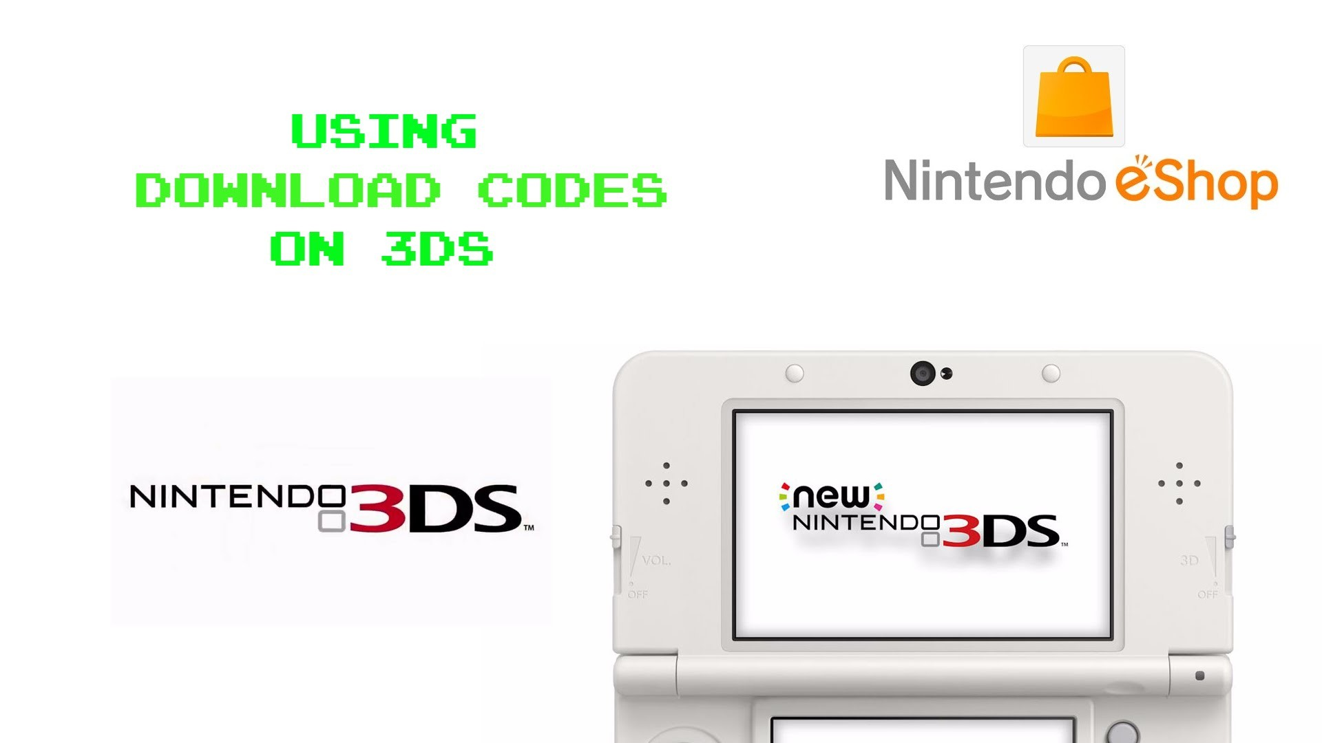 How to Use Download Codes / eShop Codes on 3DS Systems My Nintendo Club  Nintendo