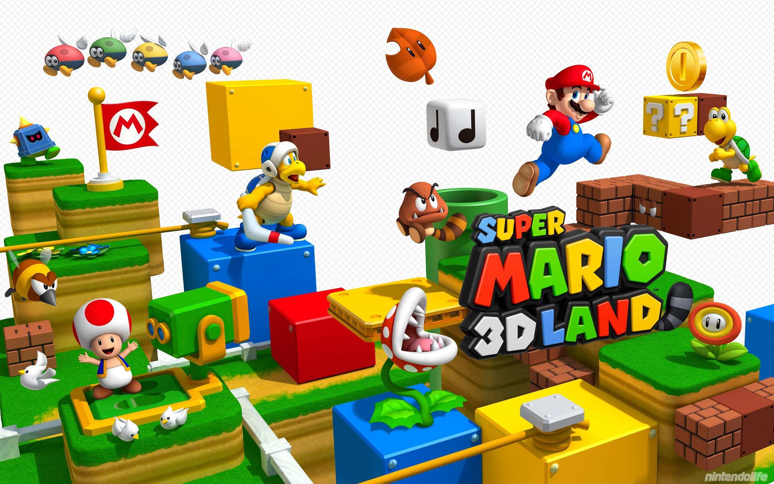 Super Mario 3D Land – Wallpaper 2