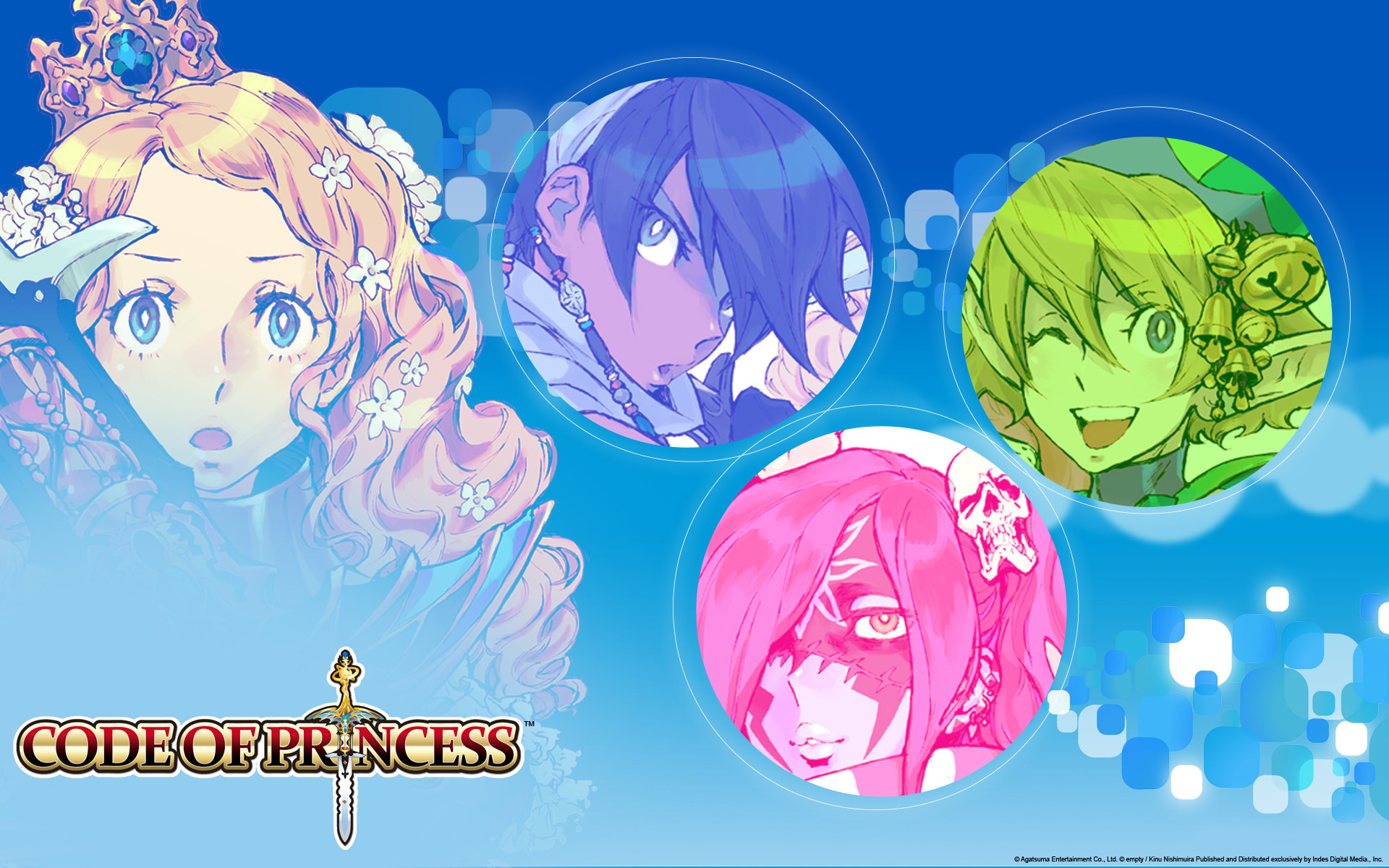 Code of Princess, the 3D beat-em-up/RPG for Nintendo 3DS! Available Now.