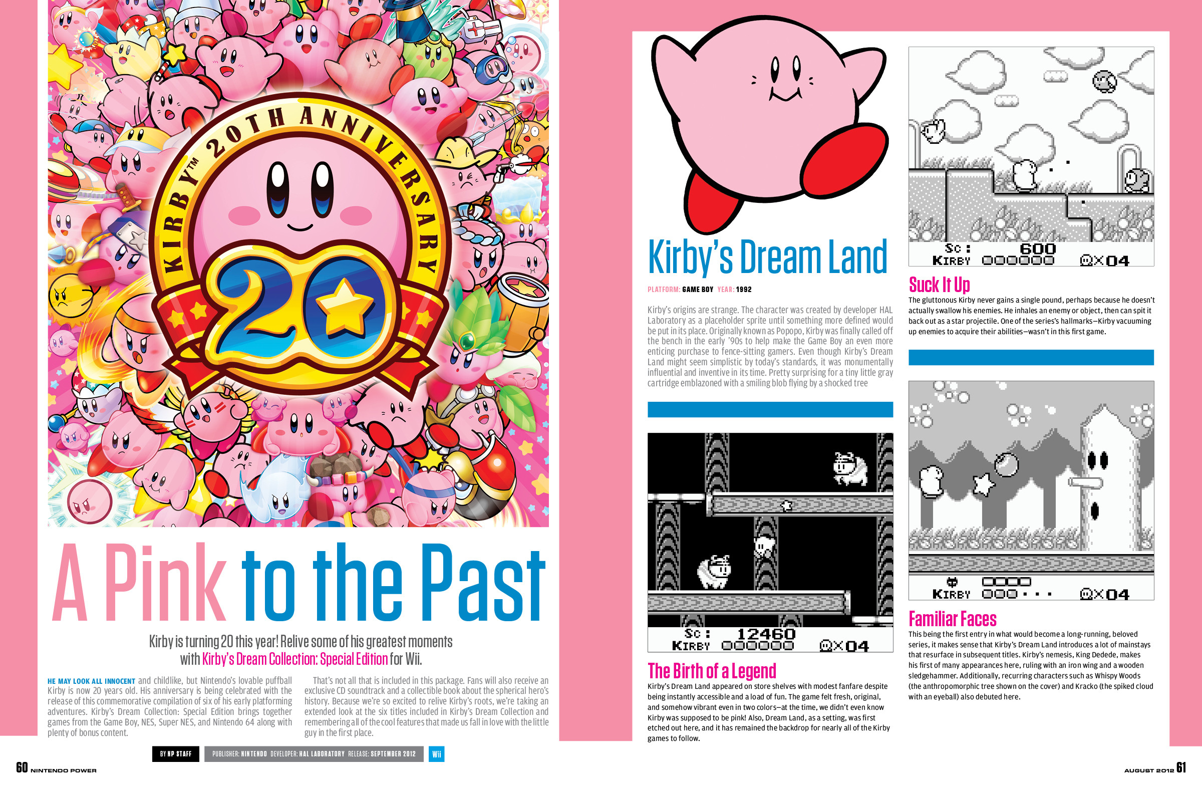 Titles featured include Scribblenauts Unlimited, Kirby's Dream Collection:  Special Edition, Code of Princess, and Kingdom Hearts 3D.