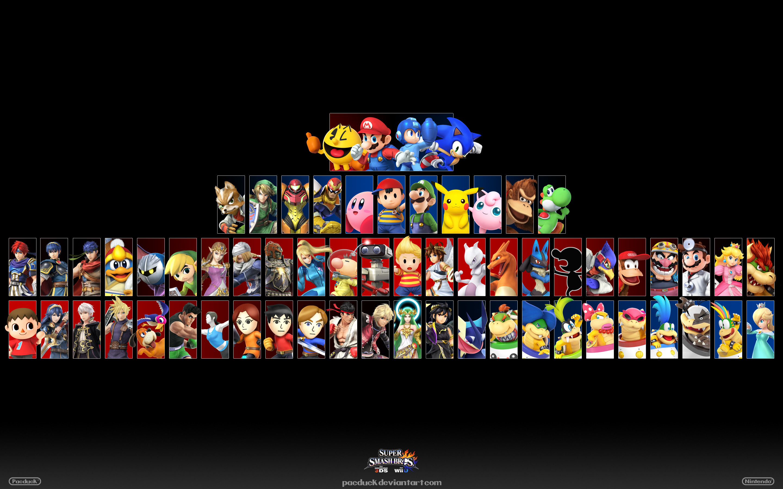 Wii U/3DS Wallpaper 2 by PacDuck