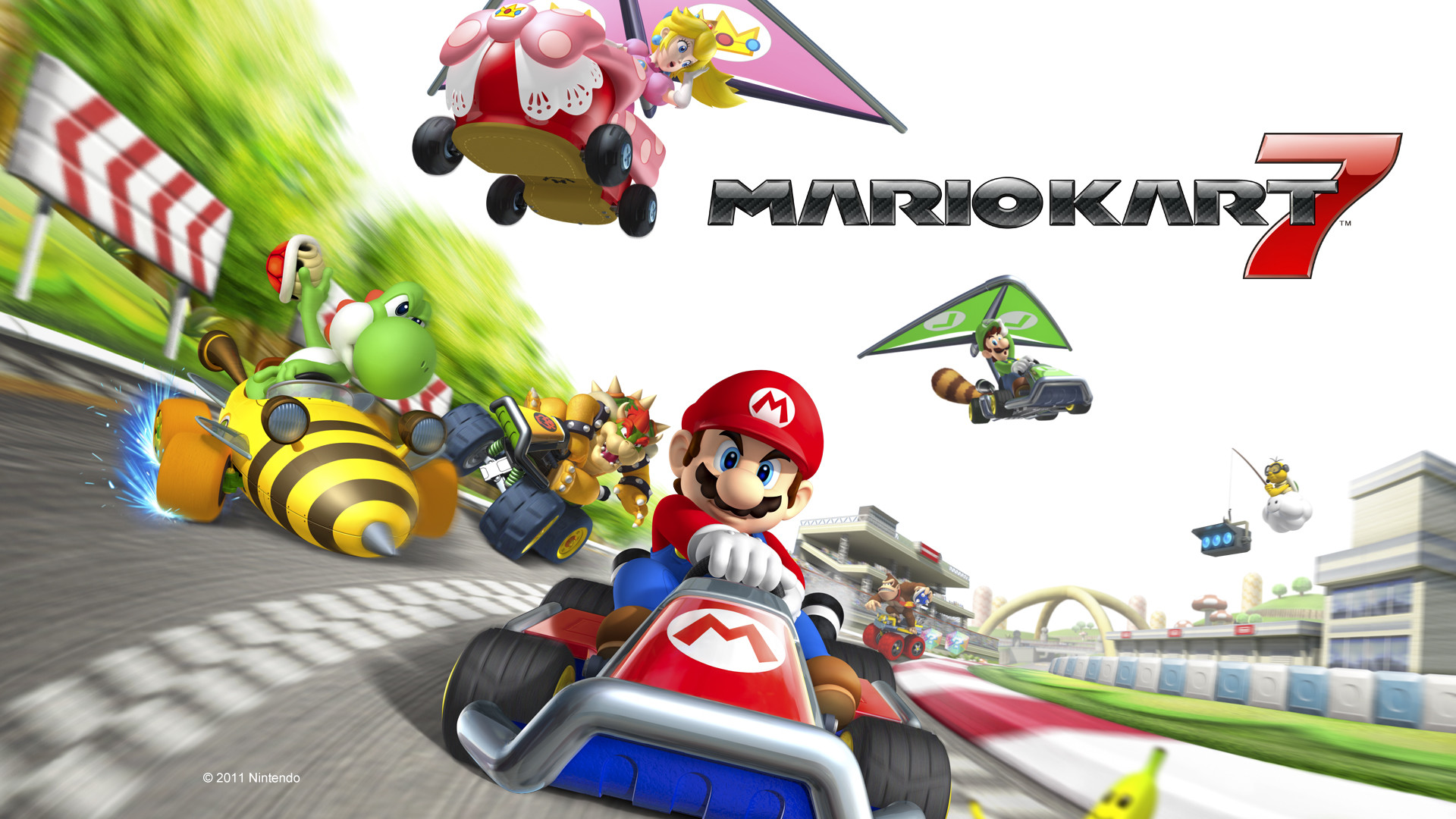 Follow The Rainbow Road – Mario Kart 7 (Download) for £18 from Jelly Deals