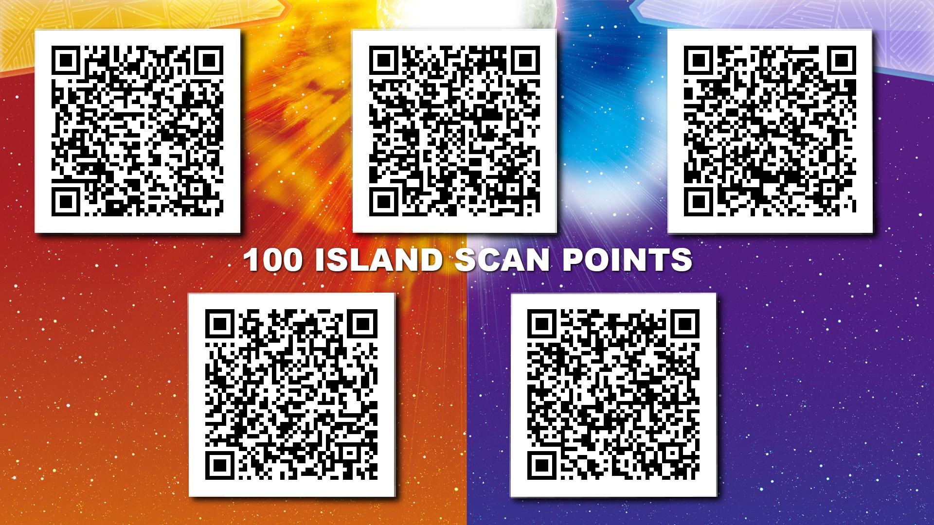 Sun Island Scan Pokemon Qr Codes Images