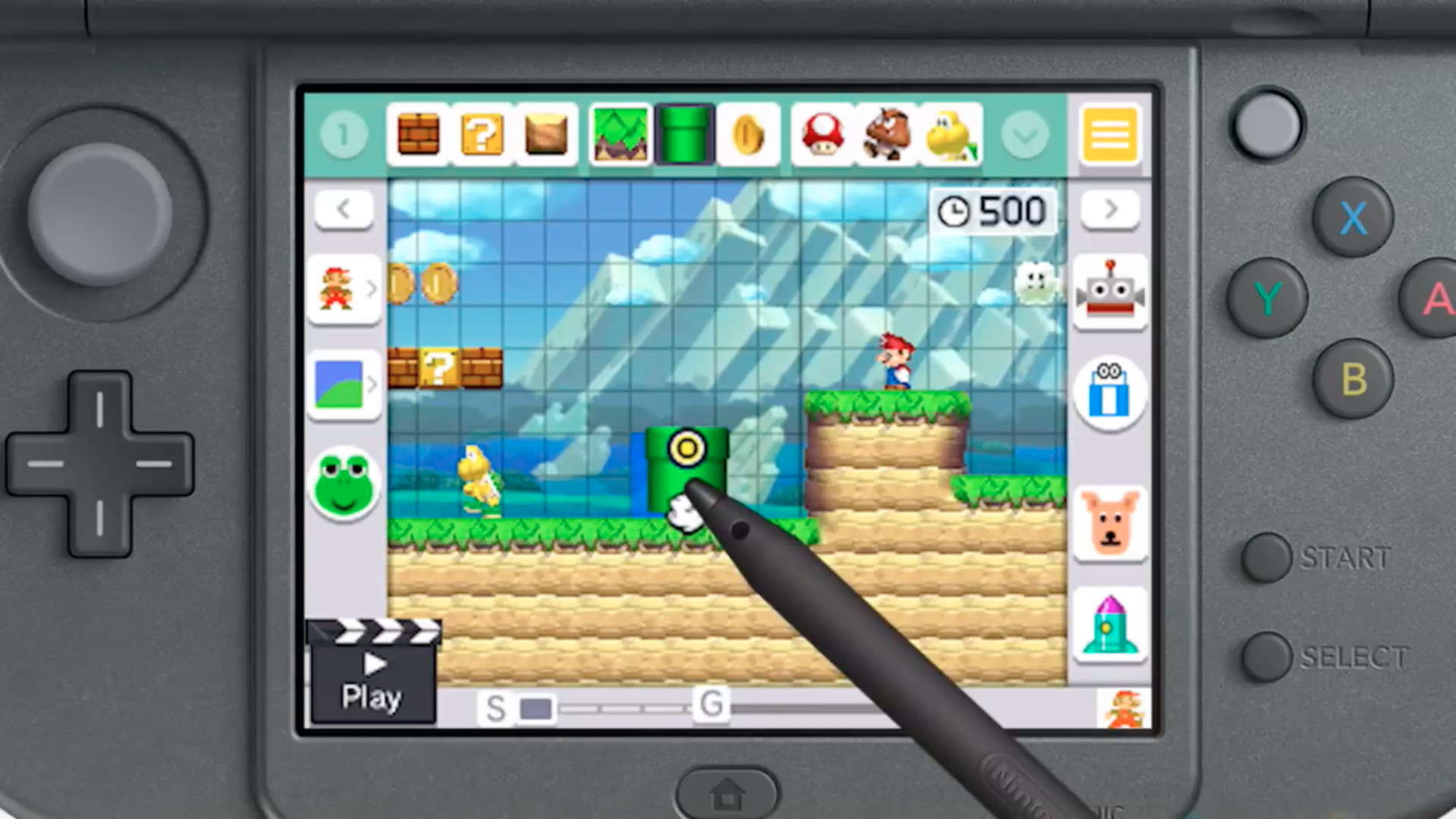 Nintendo's brilliant course creator is ready to come to a 3DS near you, but  with a couple of notable limitations