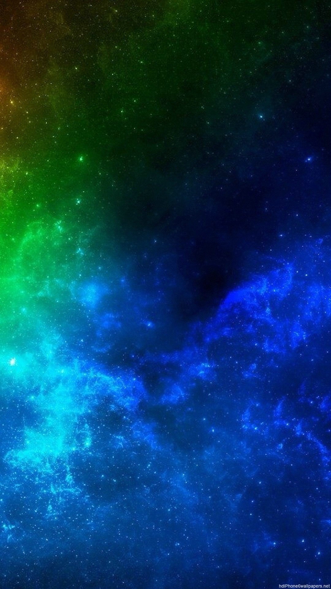 HD colorful star space bright iphone 6 wallpaper
