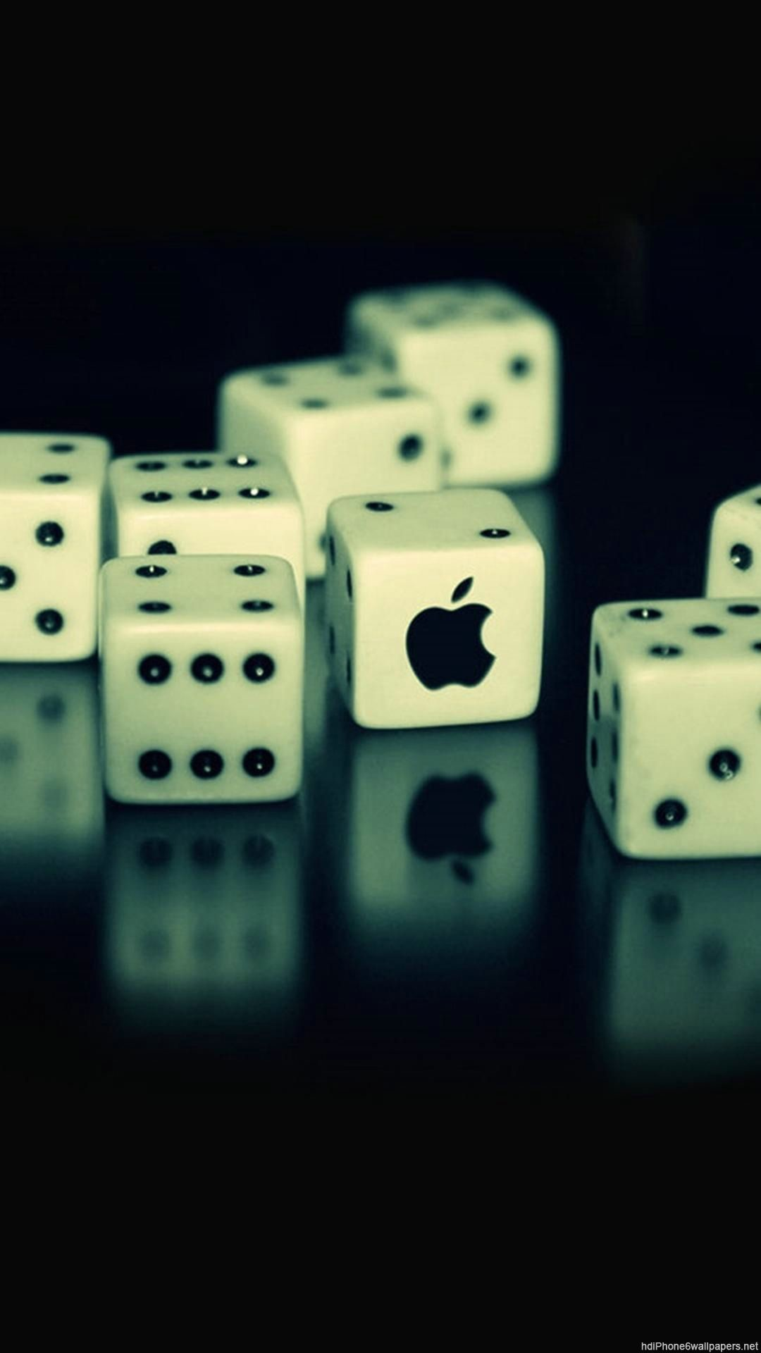 apple dice computer iPhone 6 wallpapers HD and 1080P 6 Plus Wallpapers