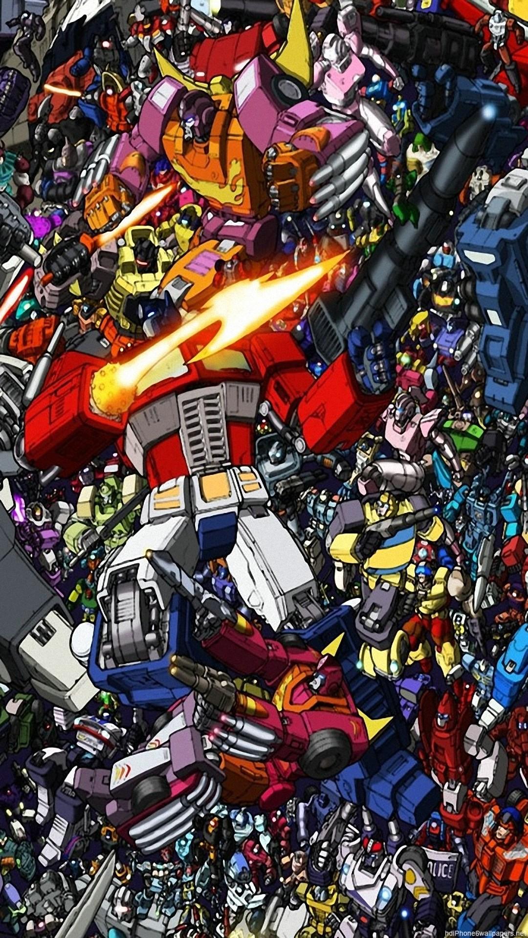 HD Transformers iphone 6 wallpaper