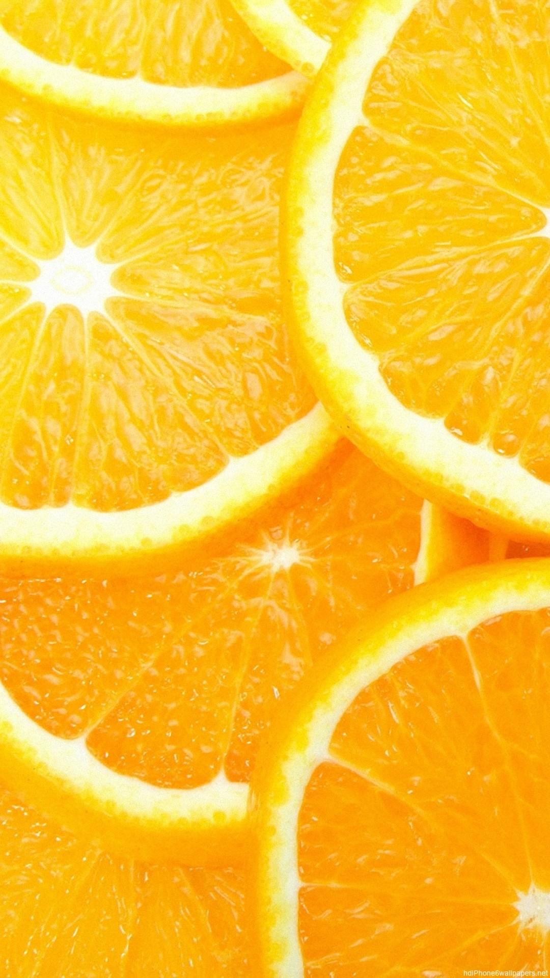 HD sweet fruit orange iphone 6 wallpaper