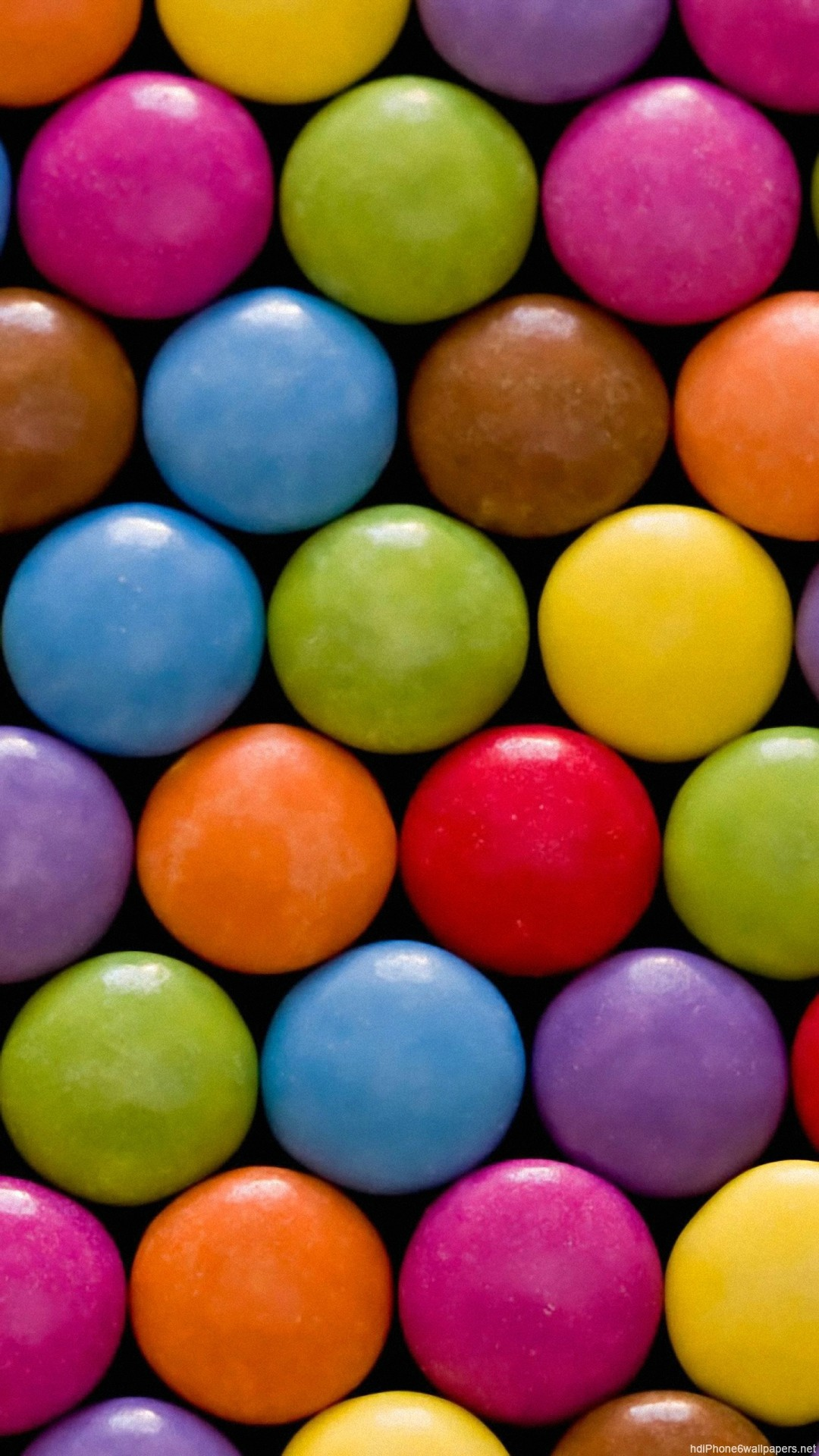 colorful circle candy candy iPhone 6 wallpapers HD – 6 Plus  backgrounds