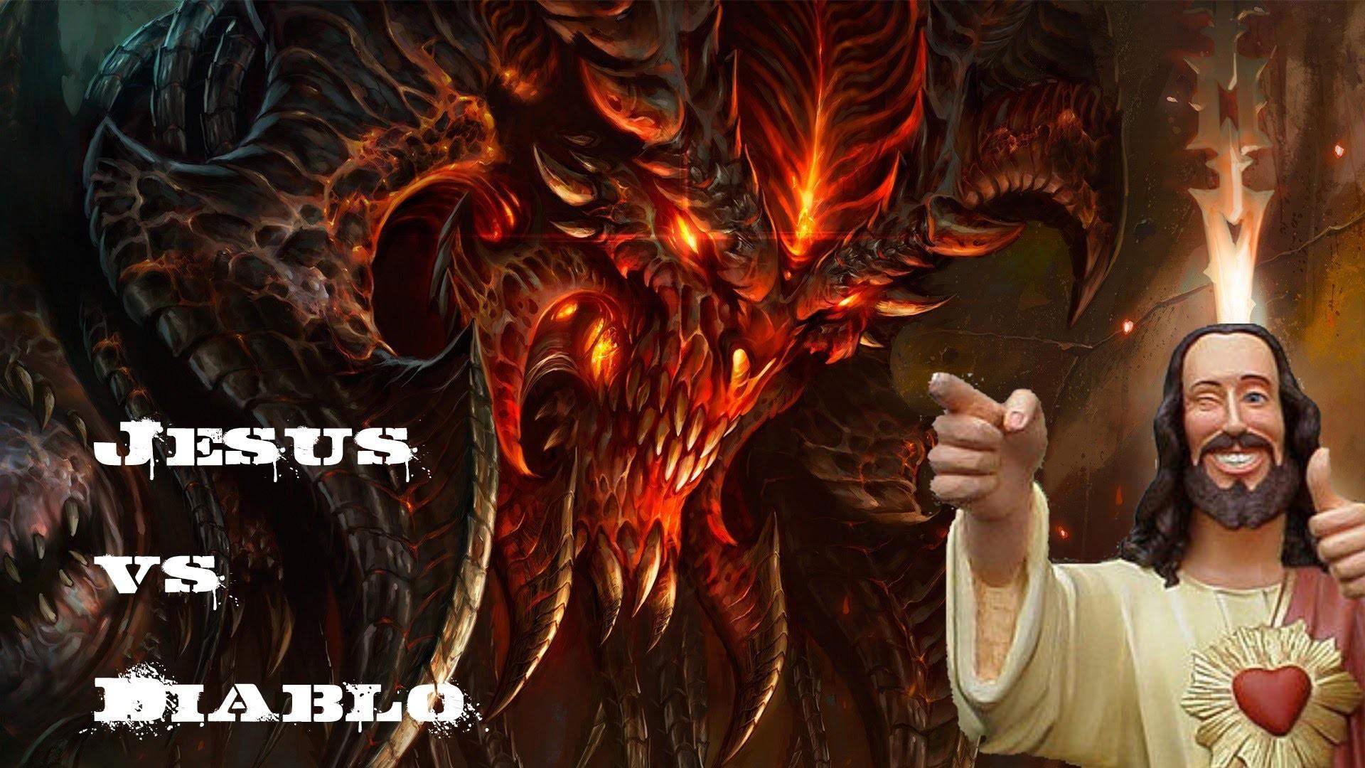 Diablo III – Jesus Vs. Diablo (Normal Monk)