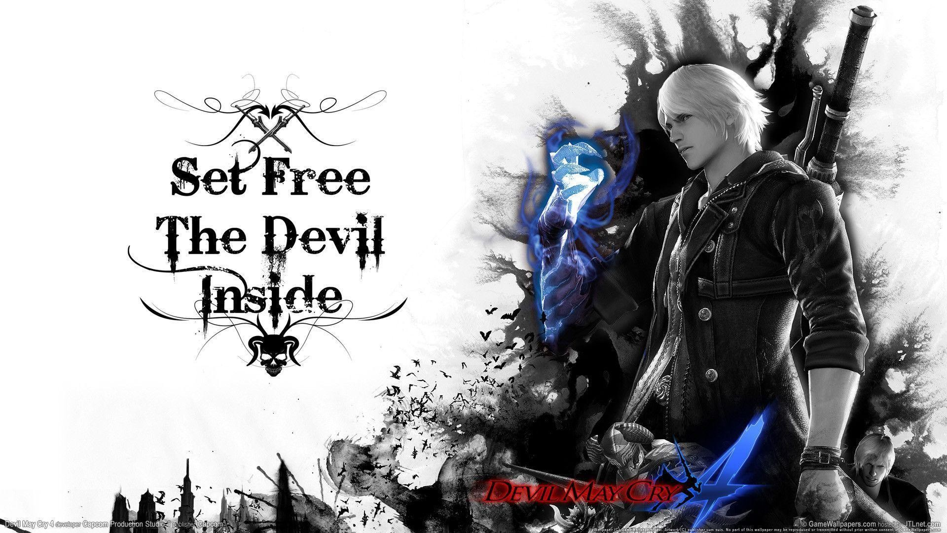 Wallpapers For > Devil May Cry 4 Wallpaper 1920×1080