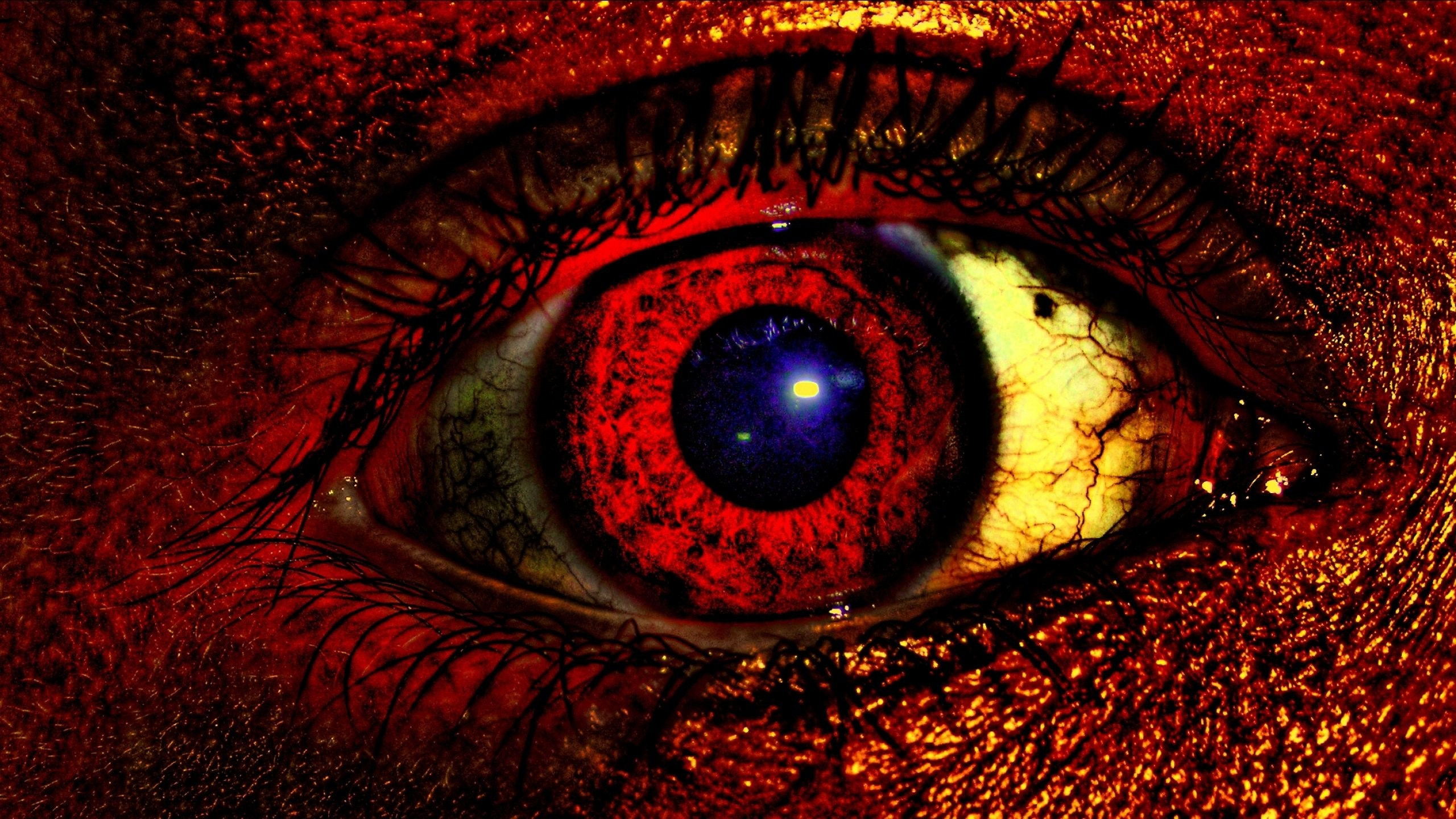 Dark evil occult satanic satan demon eye eyes wallpaper .