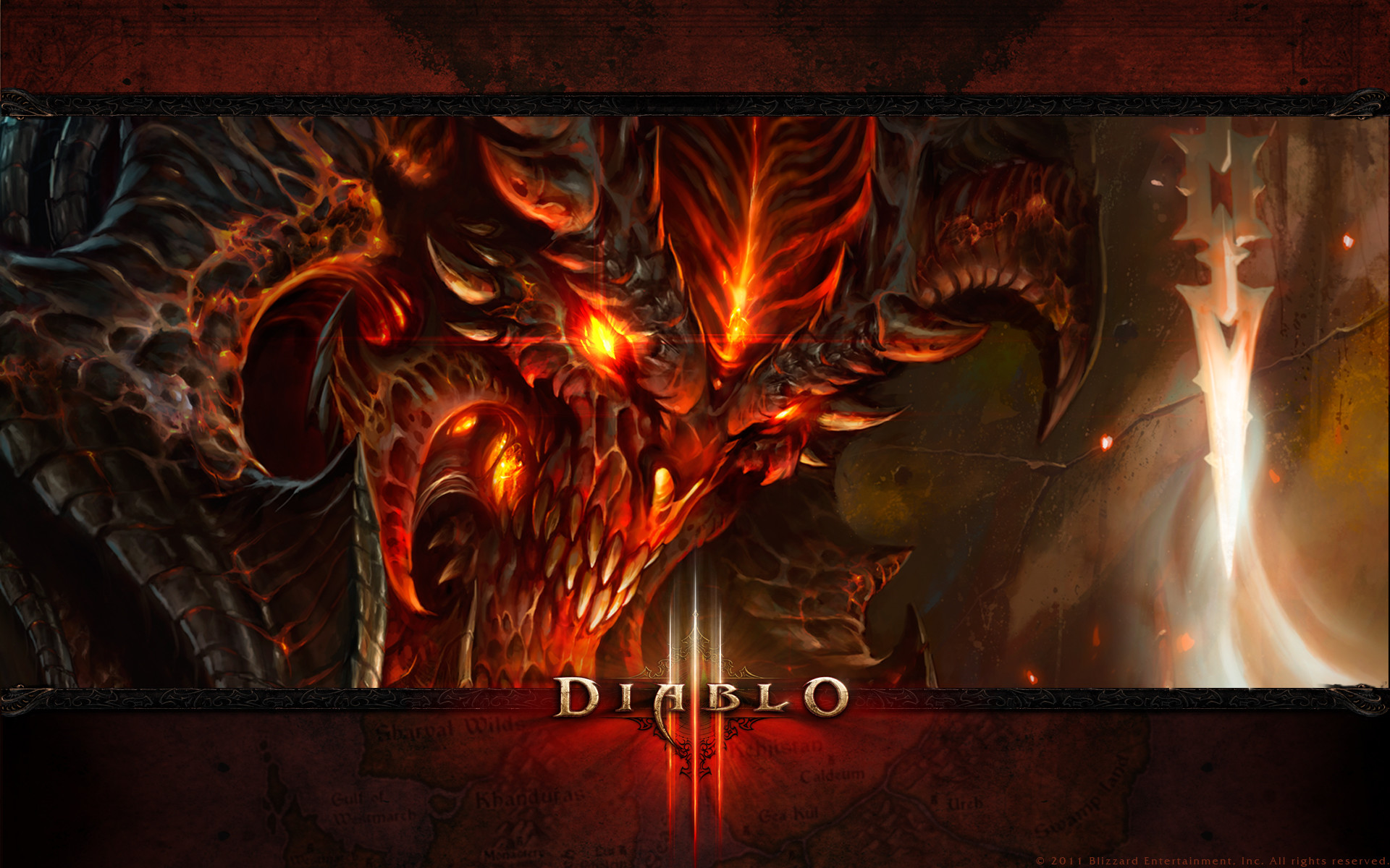 Diablo 3 Demon 1920×1200, Free Wallpapers, Free Desktop Wallpapers, HD .