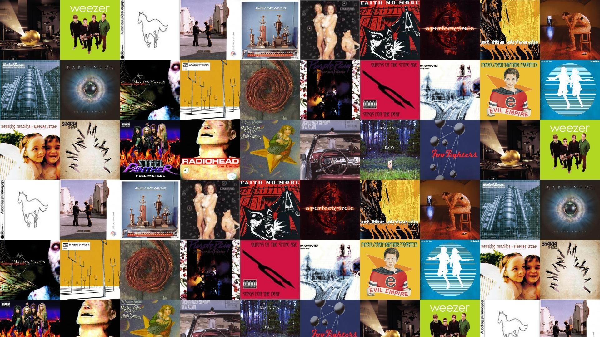 Mars Volta Deloused In Comatorium Weezer Green Deftones Wallpaper Â« Tiled  Desktop Wallpaper